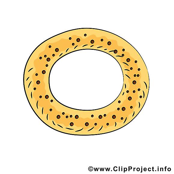 Bretzel illustration - Nourriture images