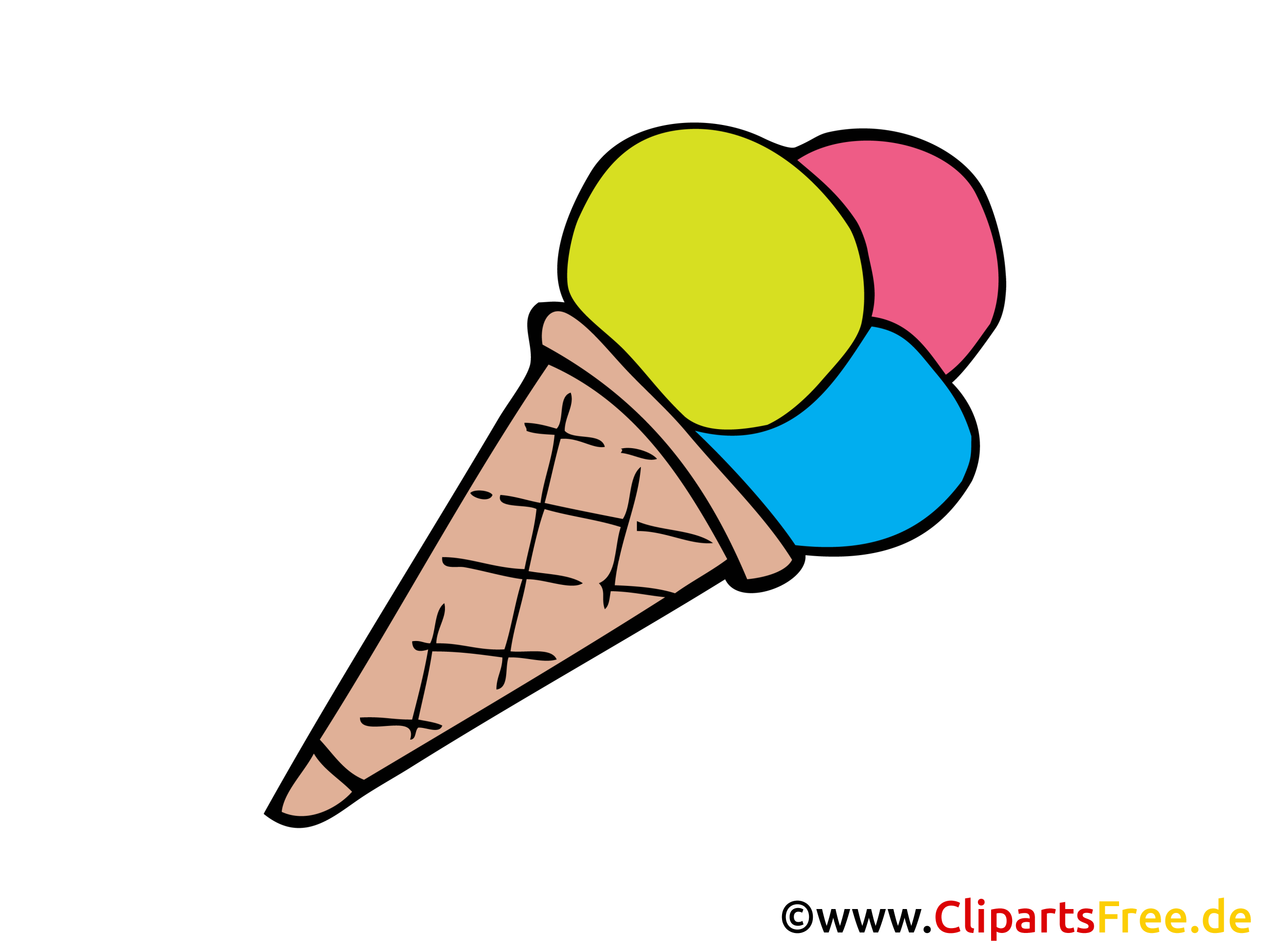 Glace clipart - Nourriture dessins gratuits