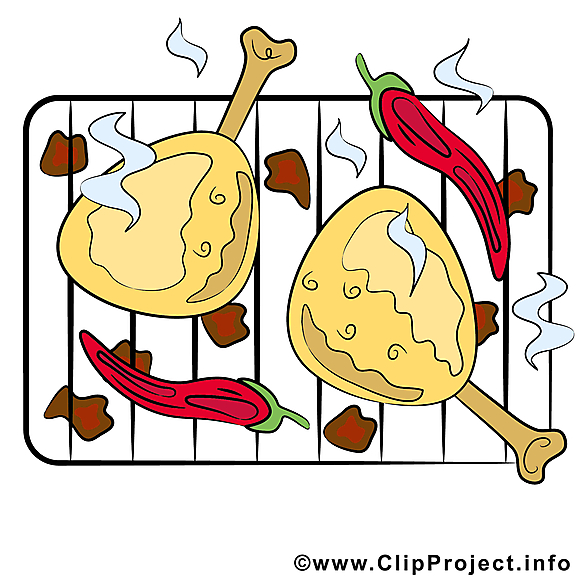 Grillage clipart - Nourriture dessins gratuits