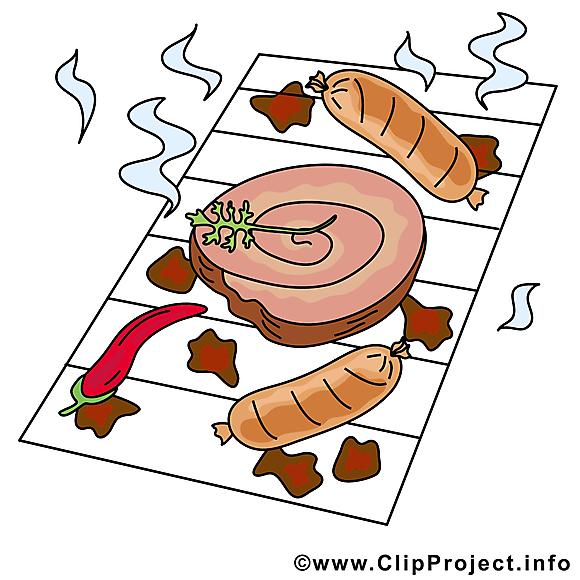 Grillage image gratuite - Nourriture illustration