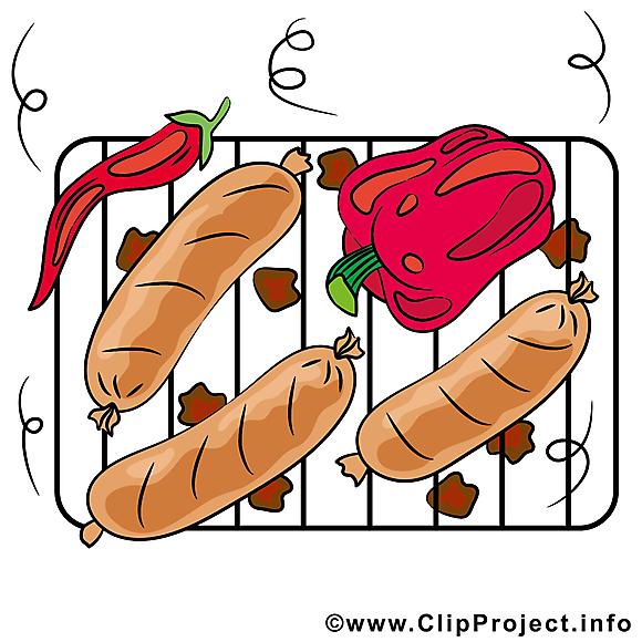 Grillage images - Nourriture dessins gratuits