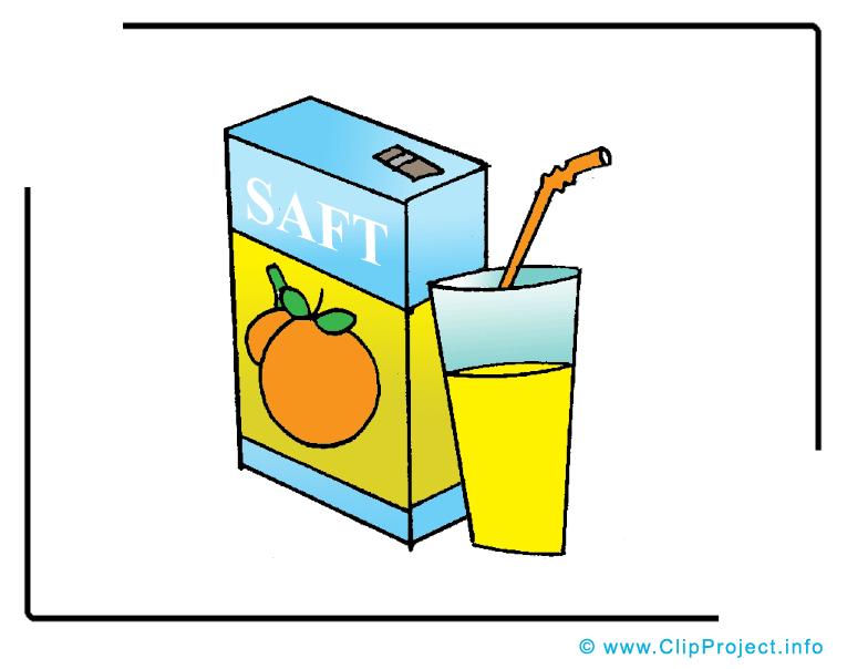 Jus clip art gratuit - Nourriture dessin