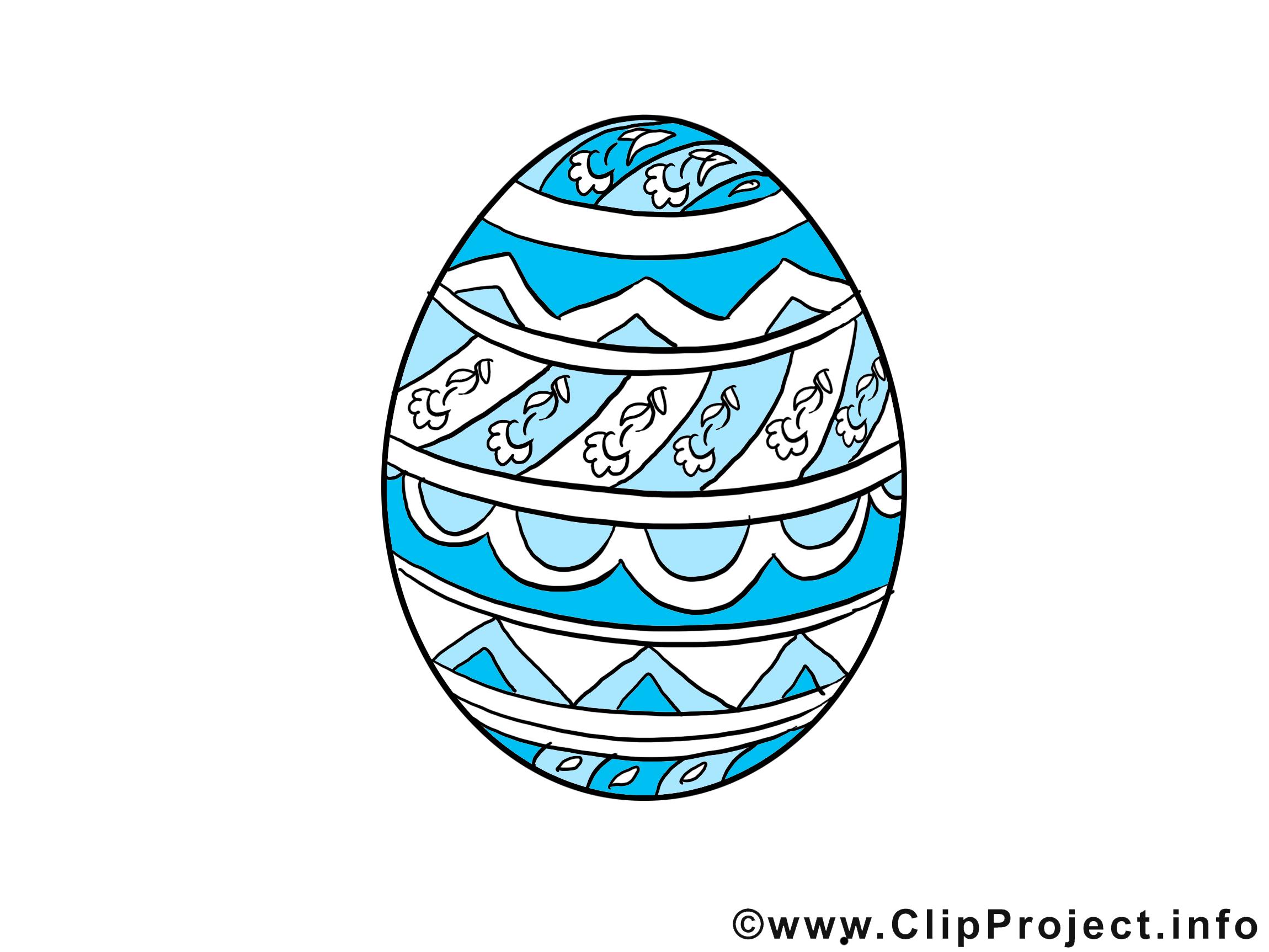 Ouef Pâques clip arts gratuits - illustrations