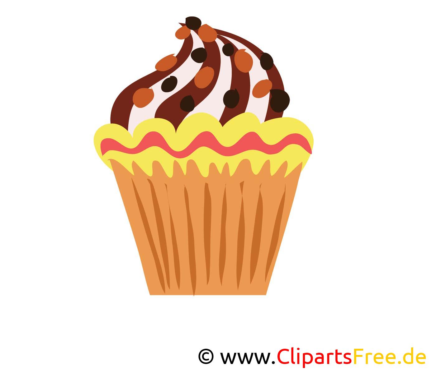 Petit gâteau image gratuite - Nourriture cliparts
