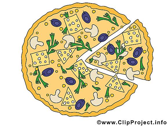 Pizza clip art – Nourriture gratuite