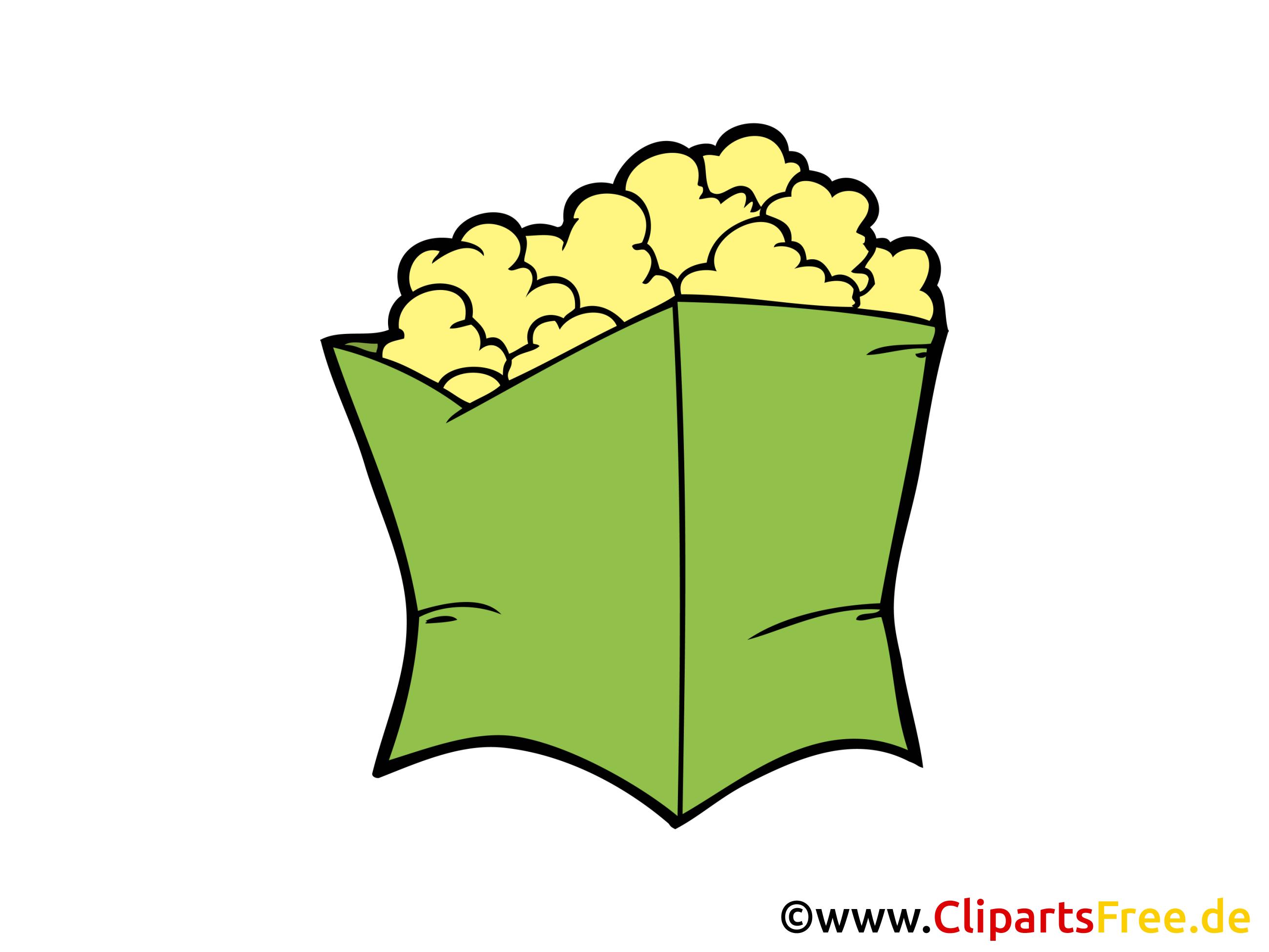 Pop-corn cliparts gratuis - Nourriture images