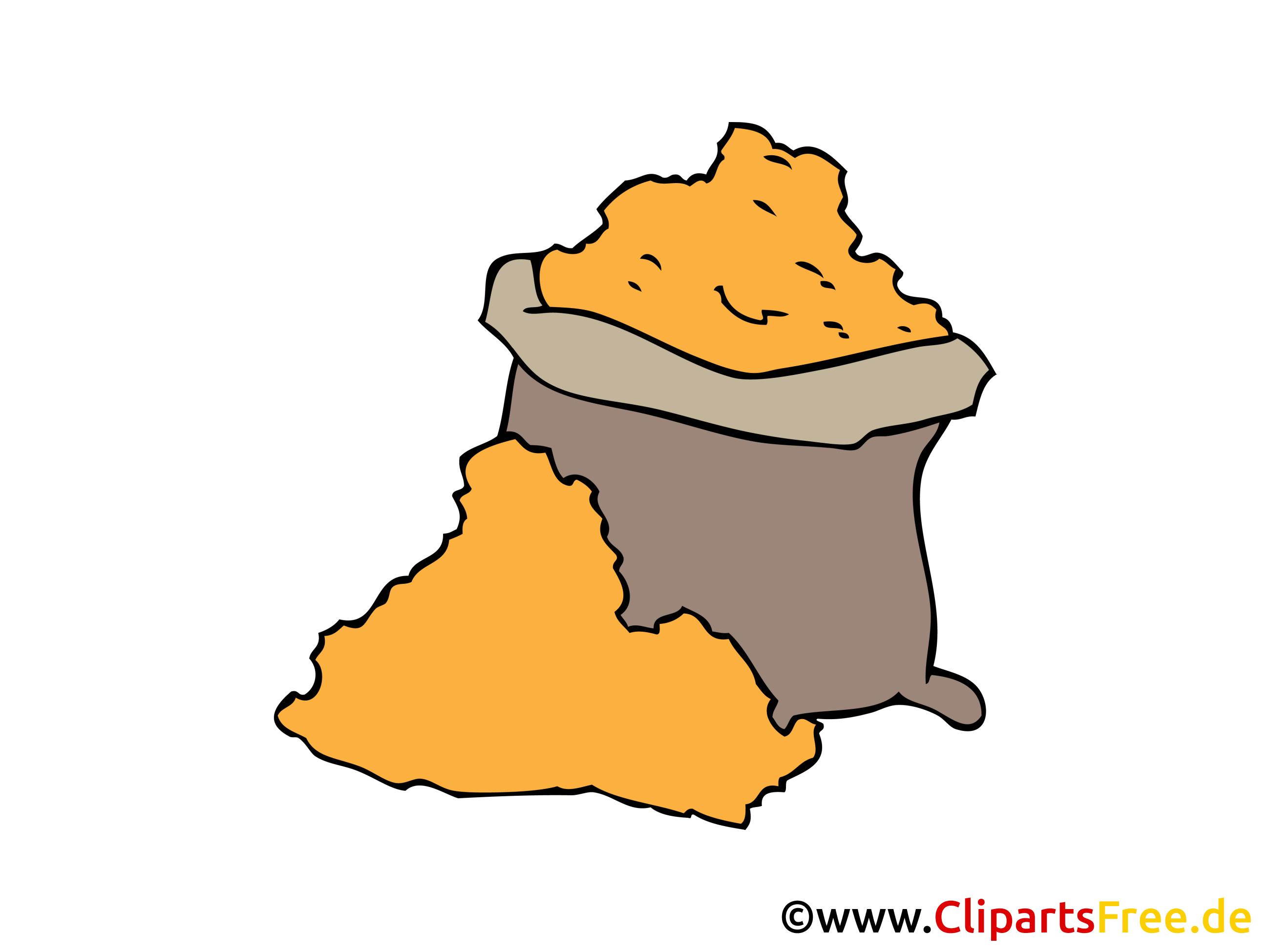 Sac image gratuite - Nourriture illustration