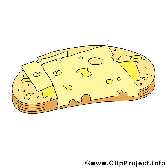Tartine illustration gratuite - Nourriture clipart