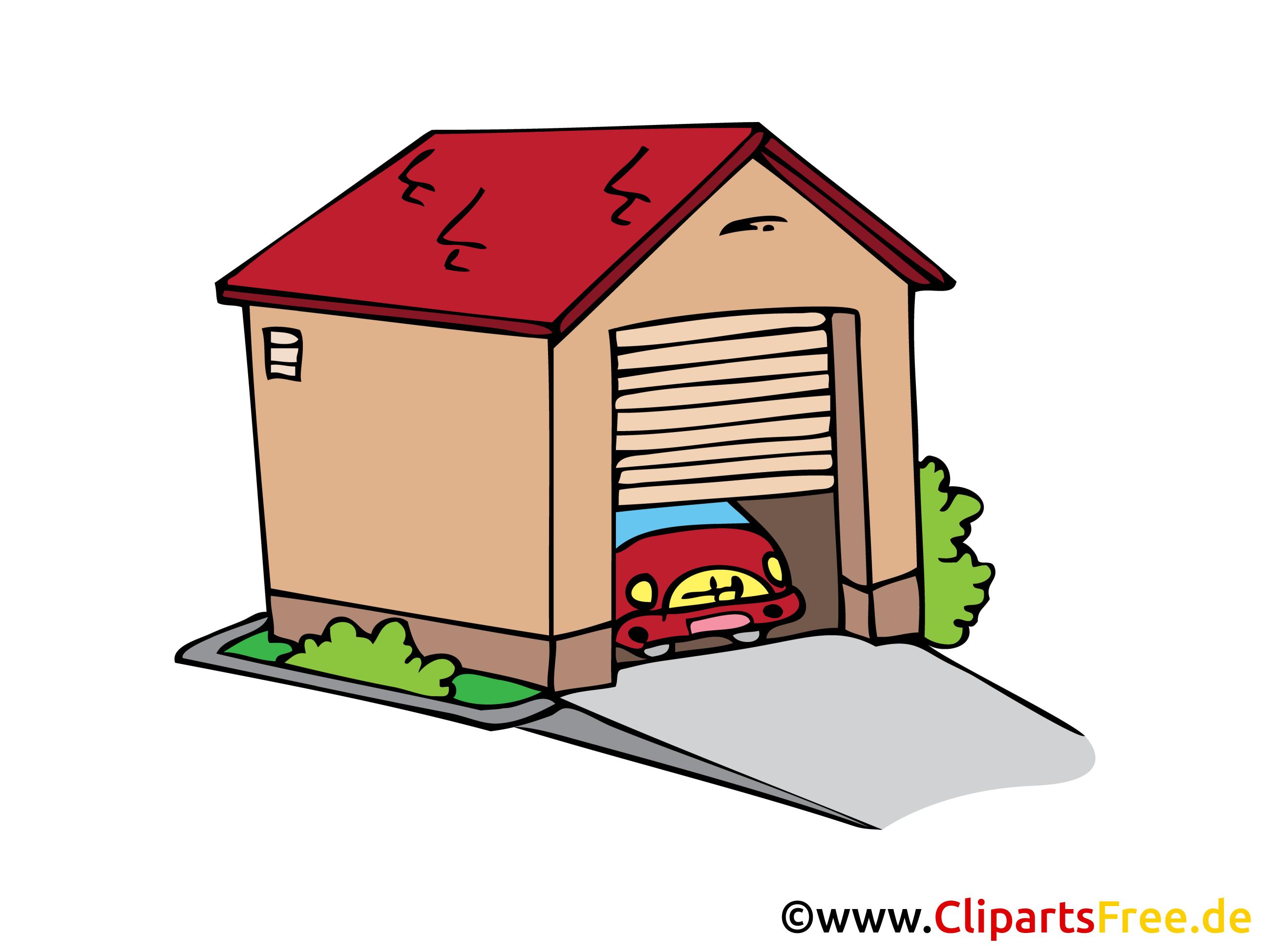 Garage dessin gratuit à télécharger
