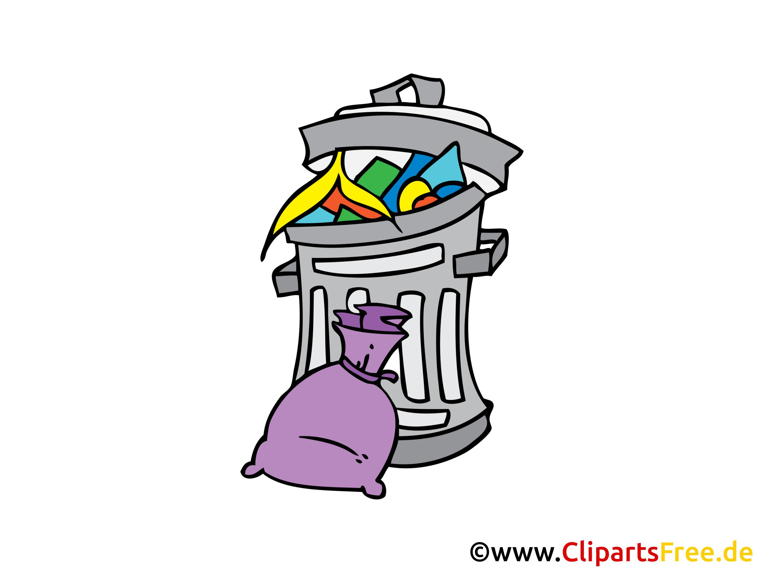 Poubelle dessins gratuits clipart gratuit objets dessin picture image graphic clip art - Dessin de poubelle ...