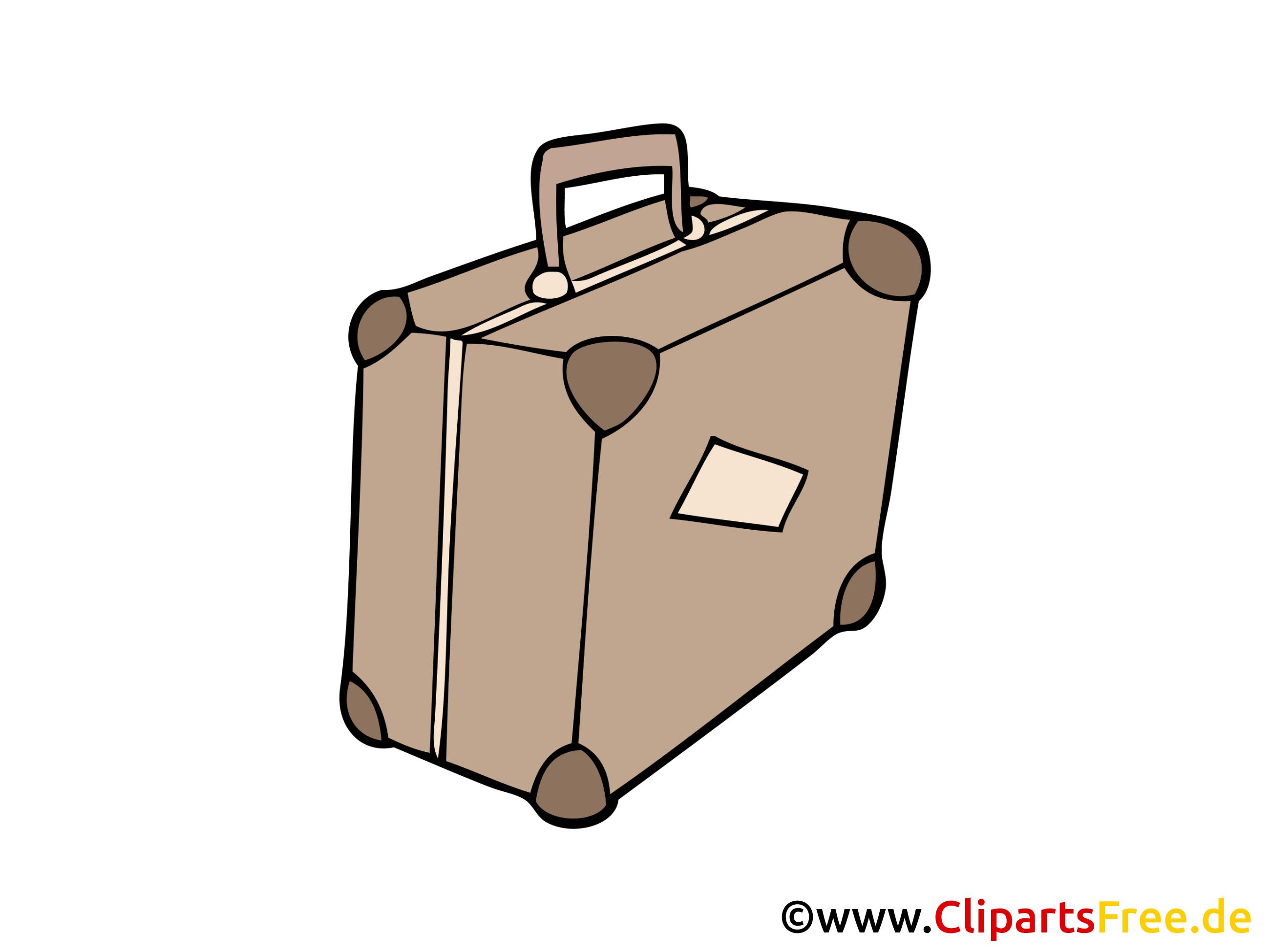 Valise image gratuite cliparts objets dessin picture - Dessin de valise ...