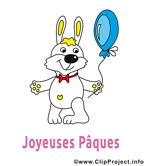 Ballon image à télécharger - Pâques clipart