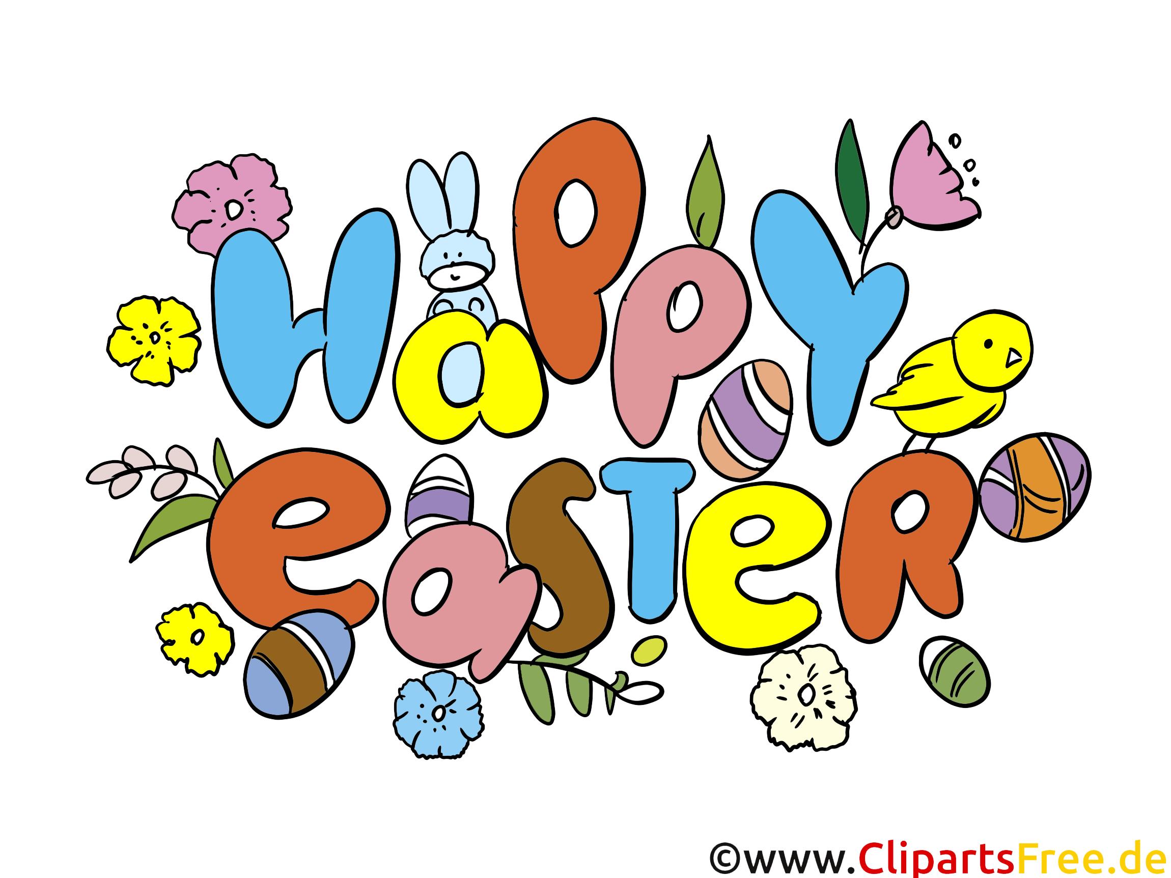Bonnes pâques dessin gratuit - Pâques image