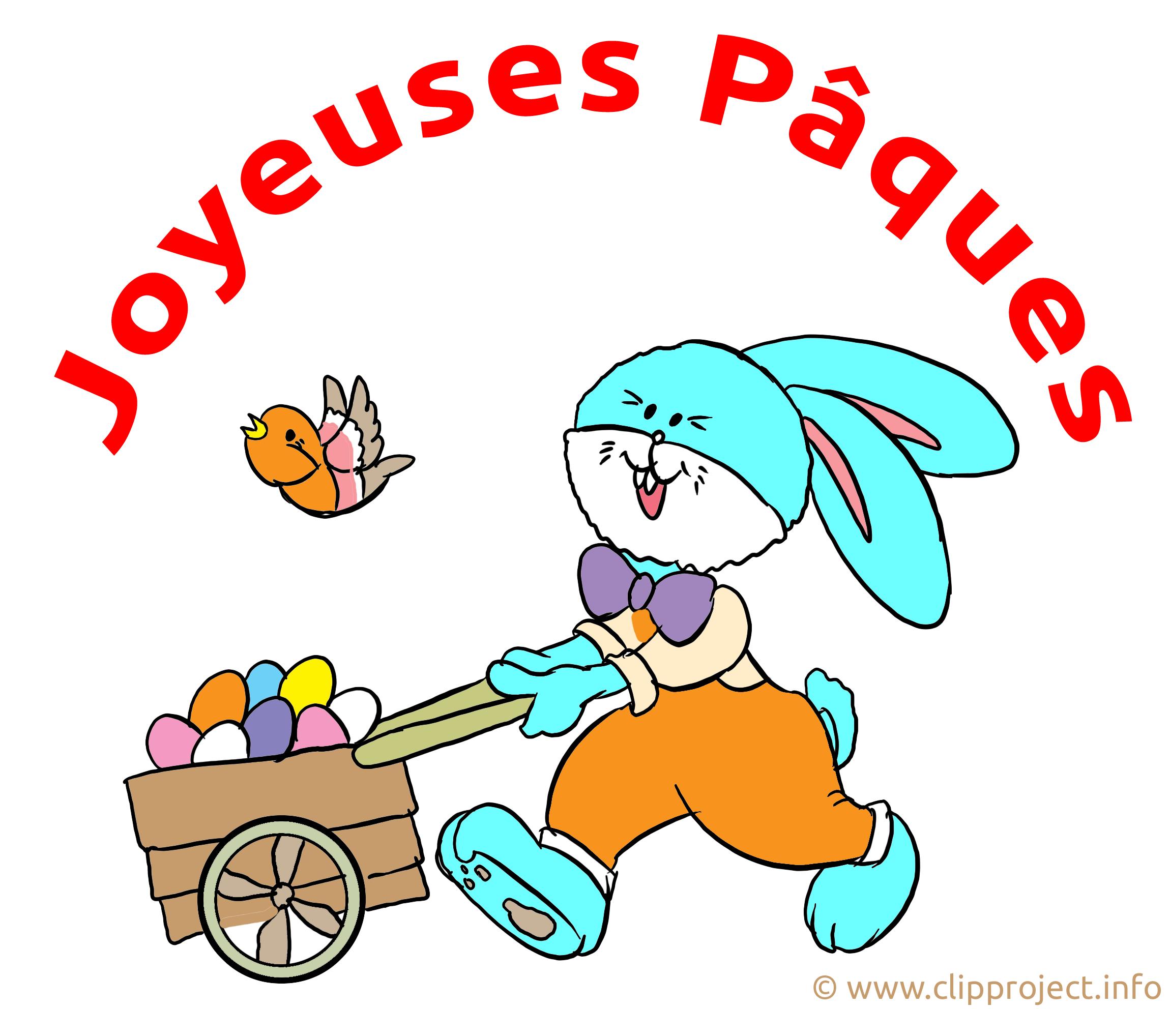 Charrette image gratuite - Pâques cliparts