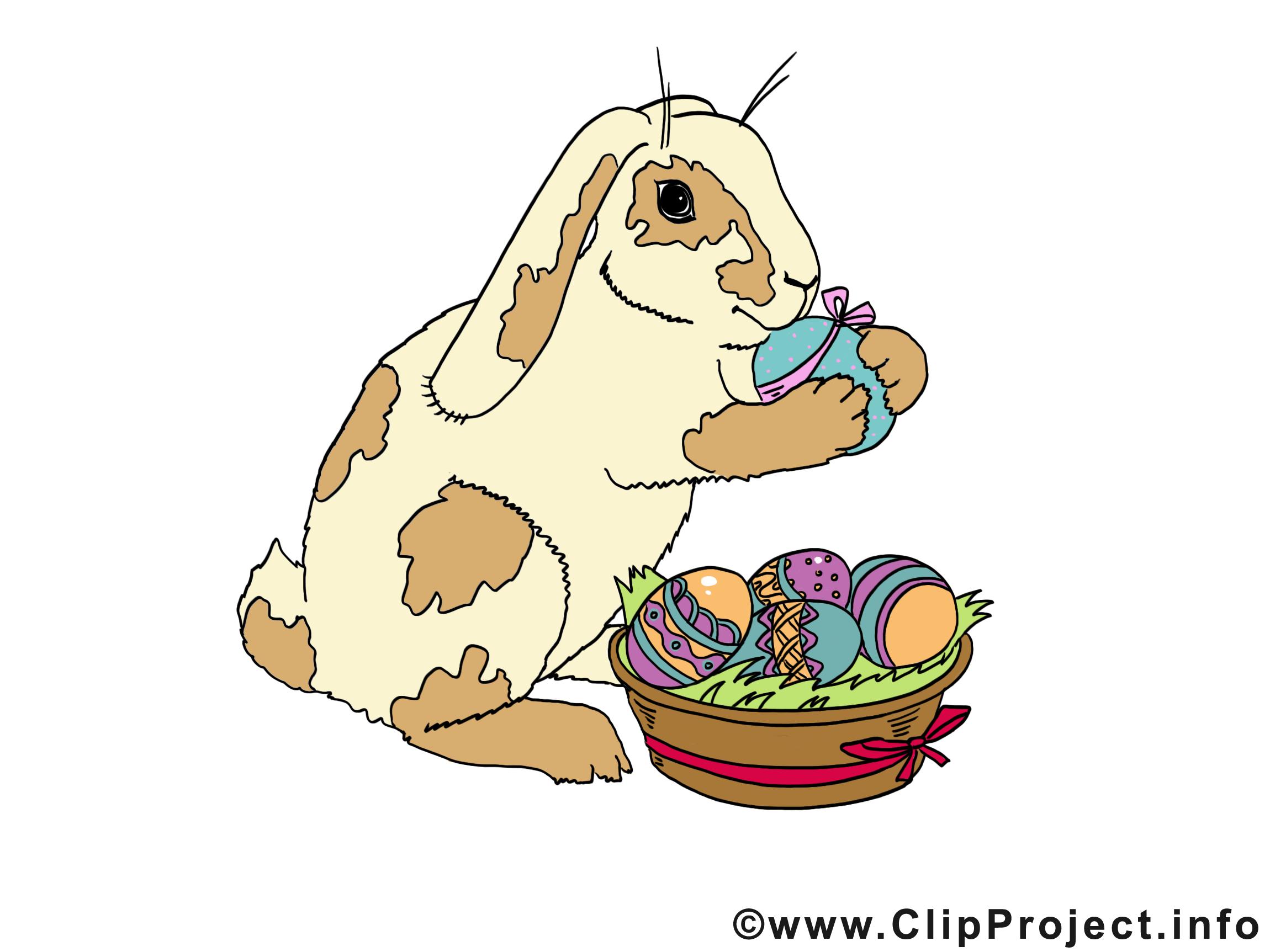 Lapin illustration Pâques images