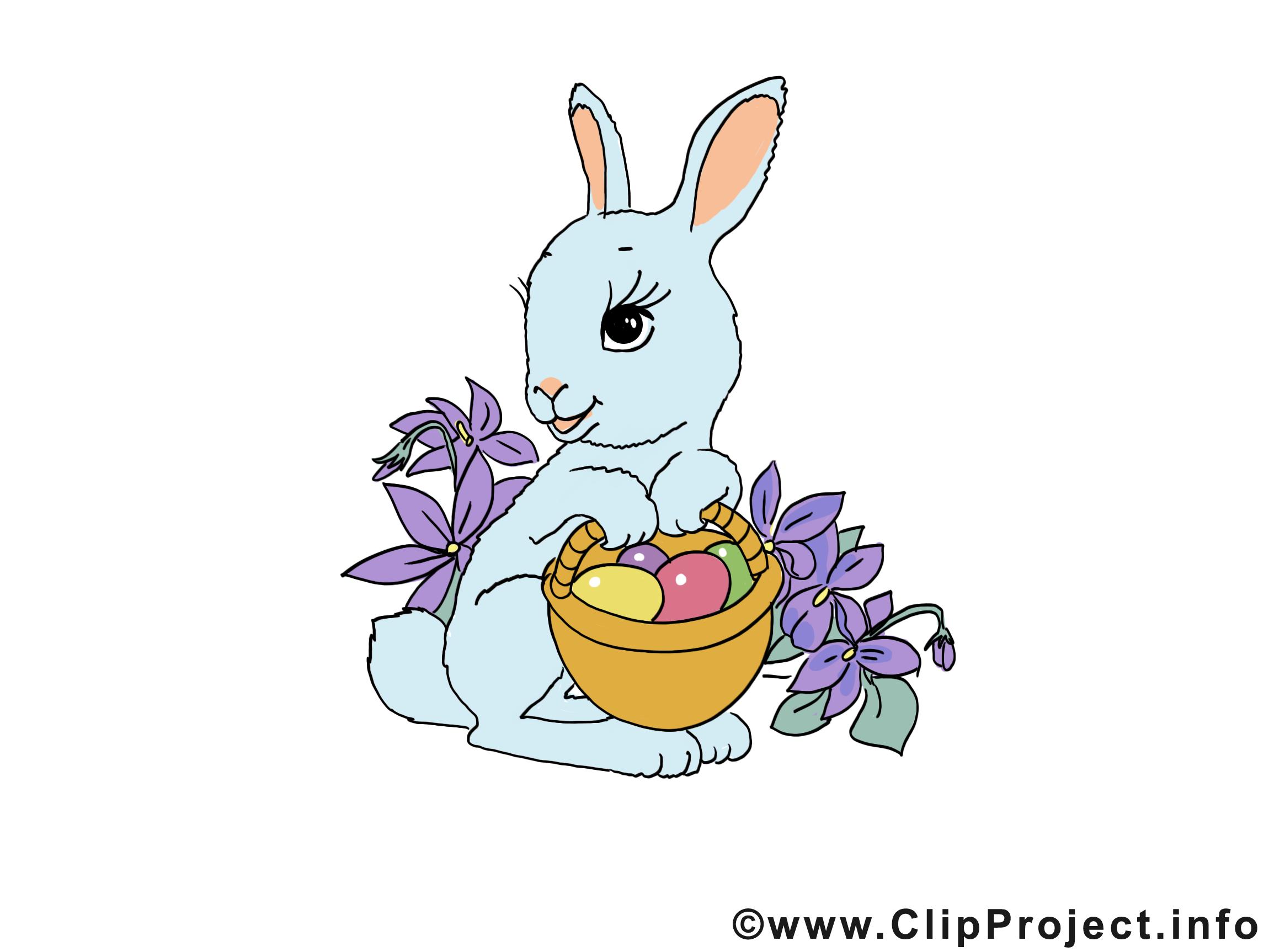 Lapin image - Pâques images cliparts