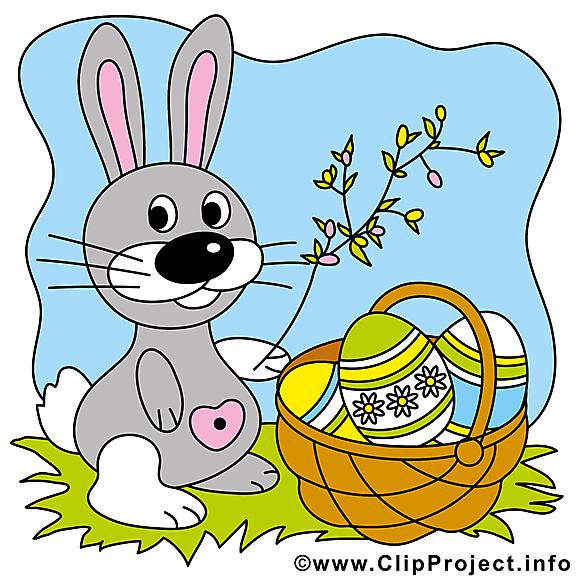 Lapin image gratuite - Pâques cliparts