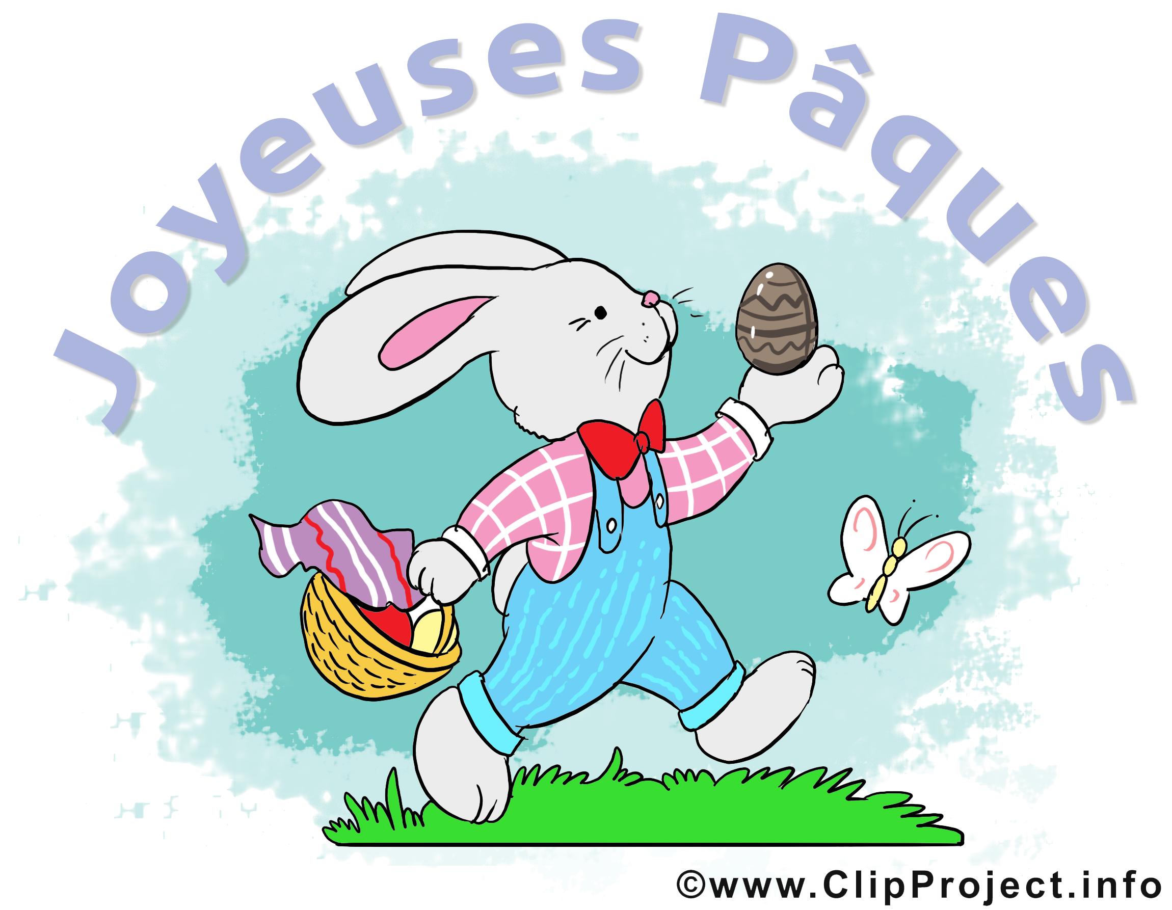 Lapin images gratuites – Pâques clipart