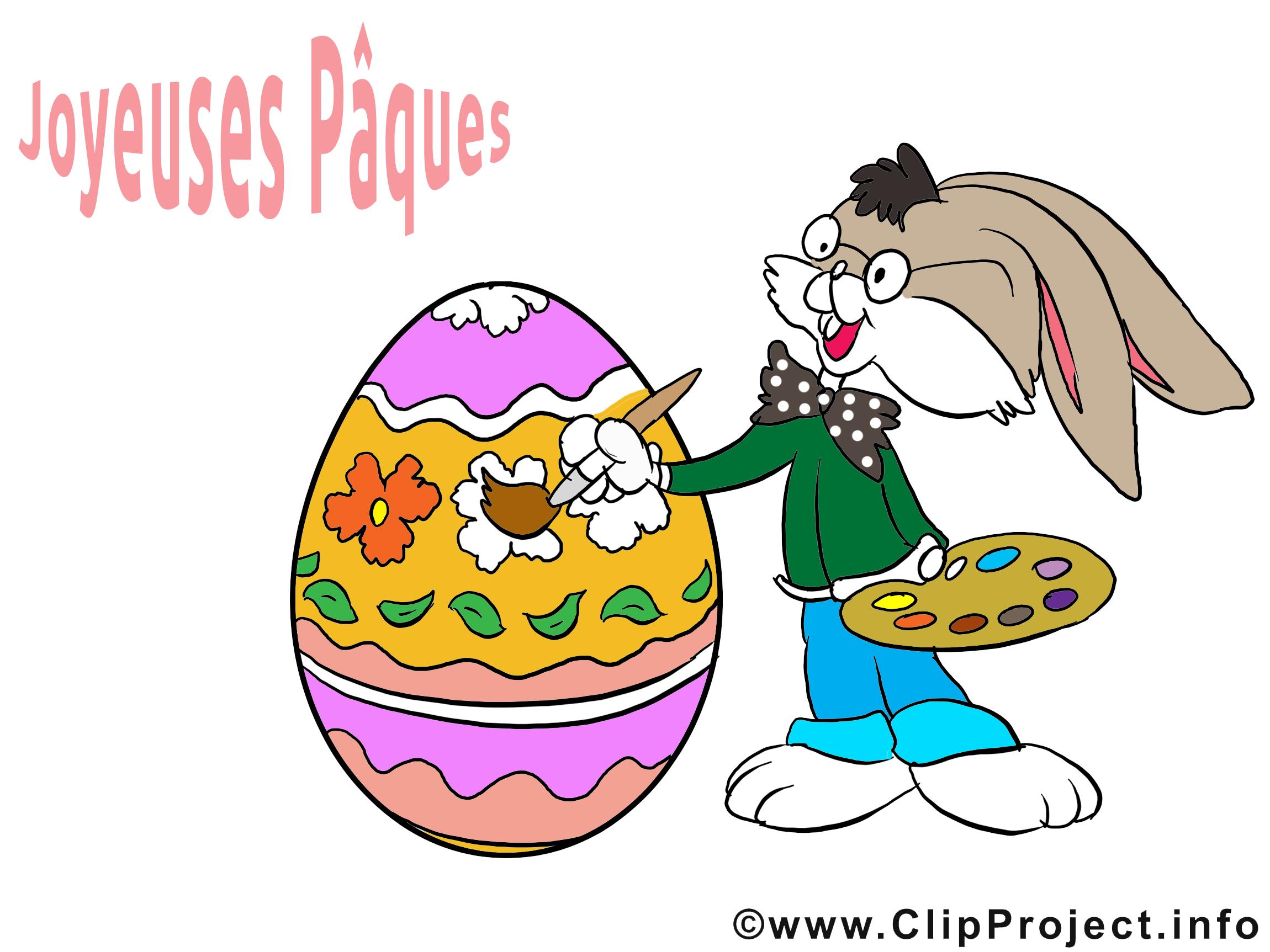Lapin oeuf images gratuites – Pâques clipart