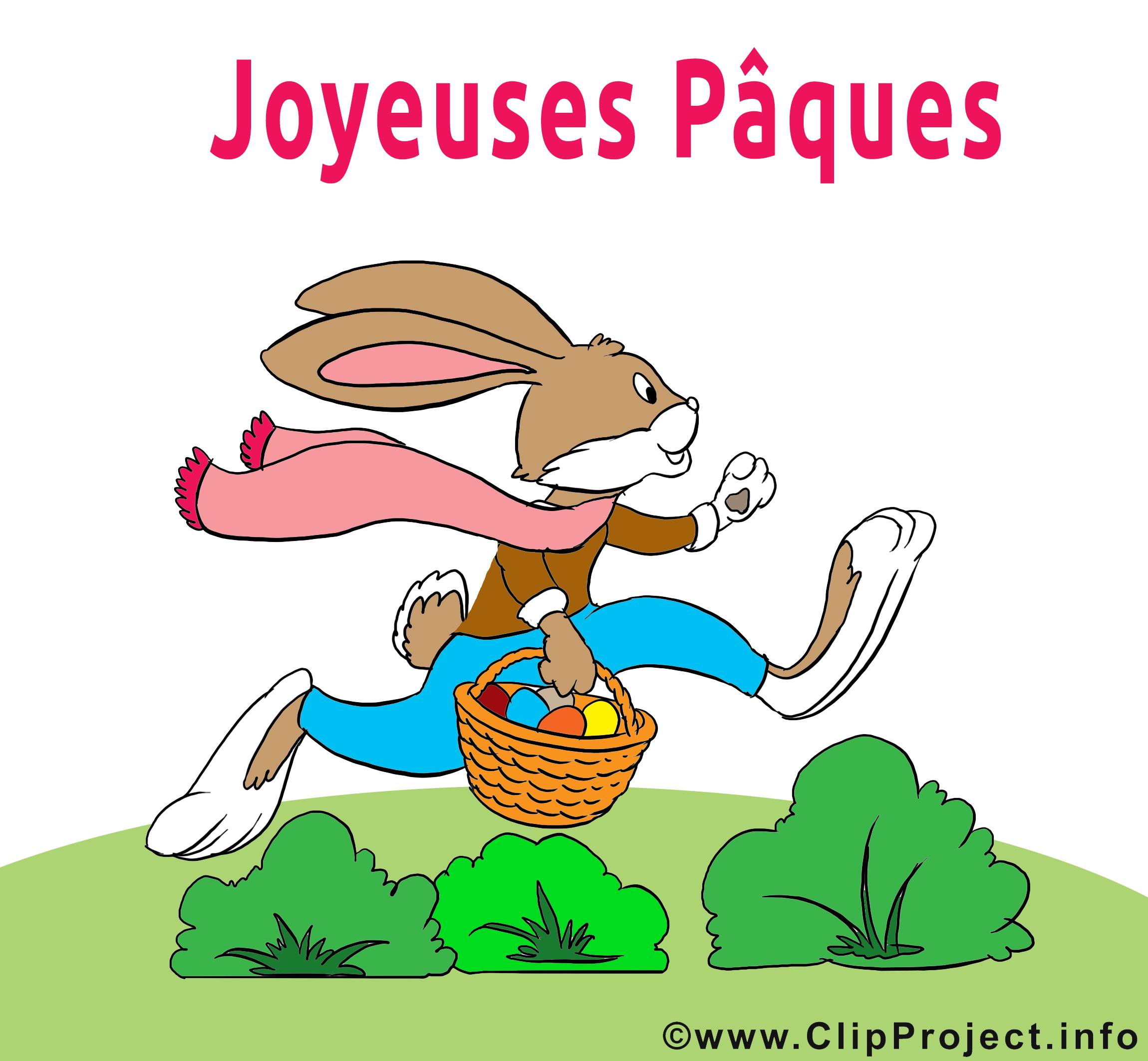 Lapin p ques clip art gratuit images p ques dessin picture image graphic clip art - Image lapin de paques ...
