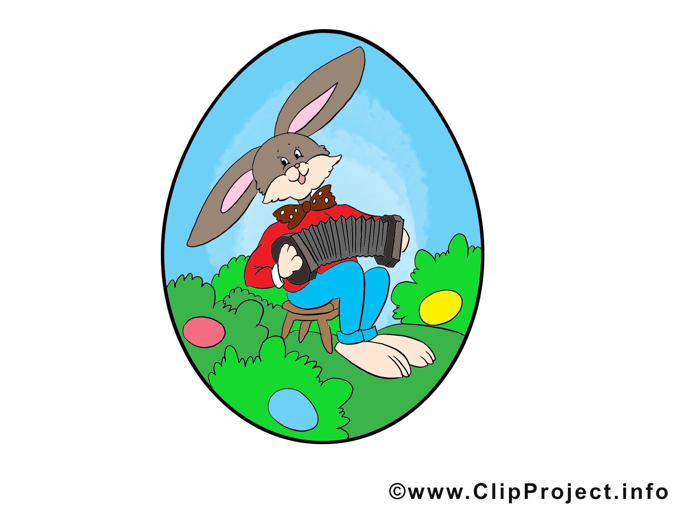 Lapin Pâques dessins gratuits clipart
