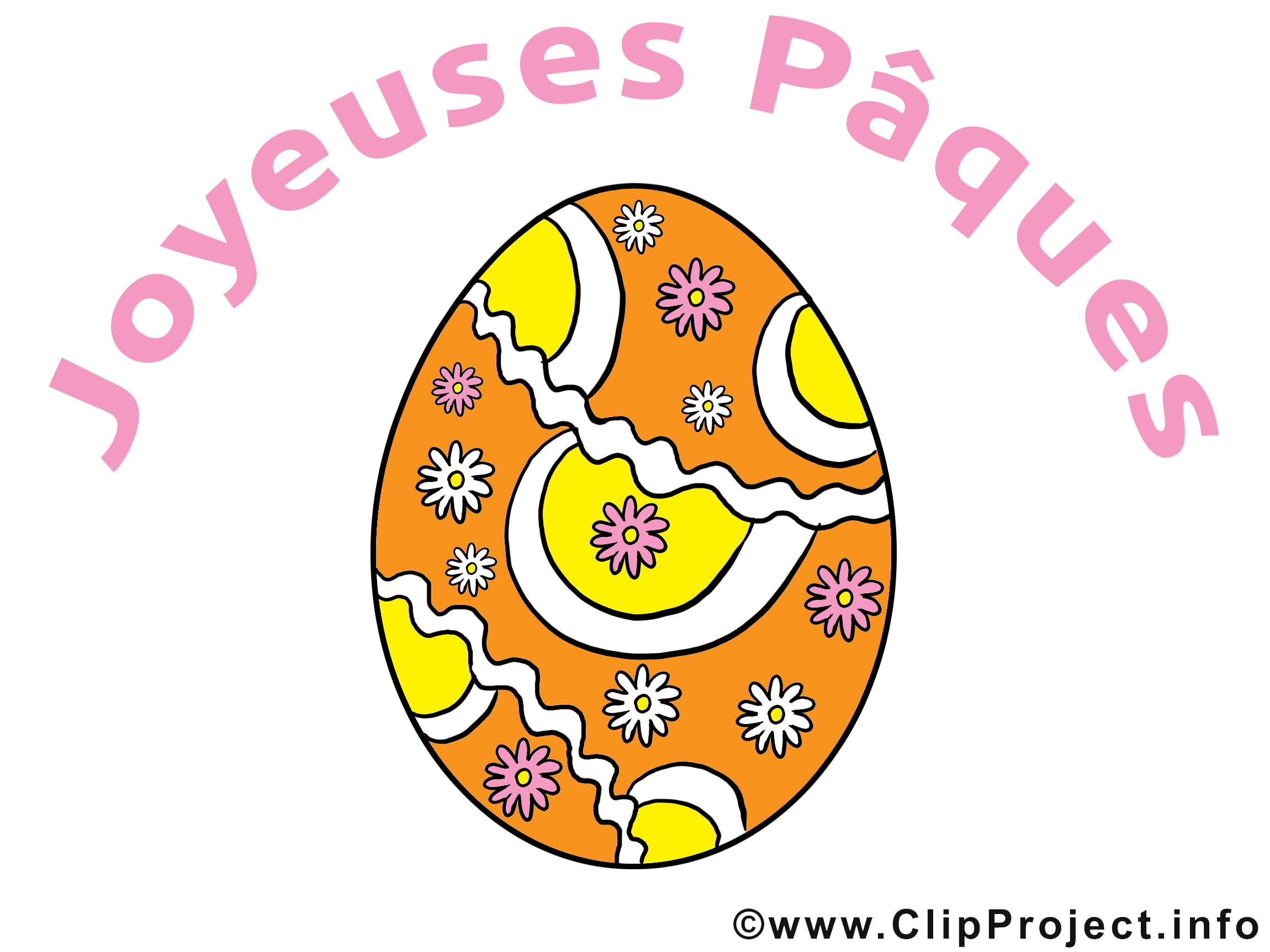 Oeuf clip arts gratuits - Pâques illustrations