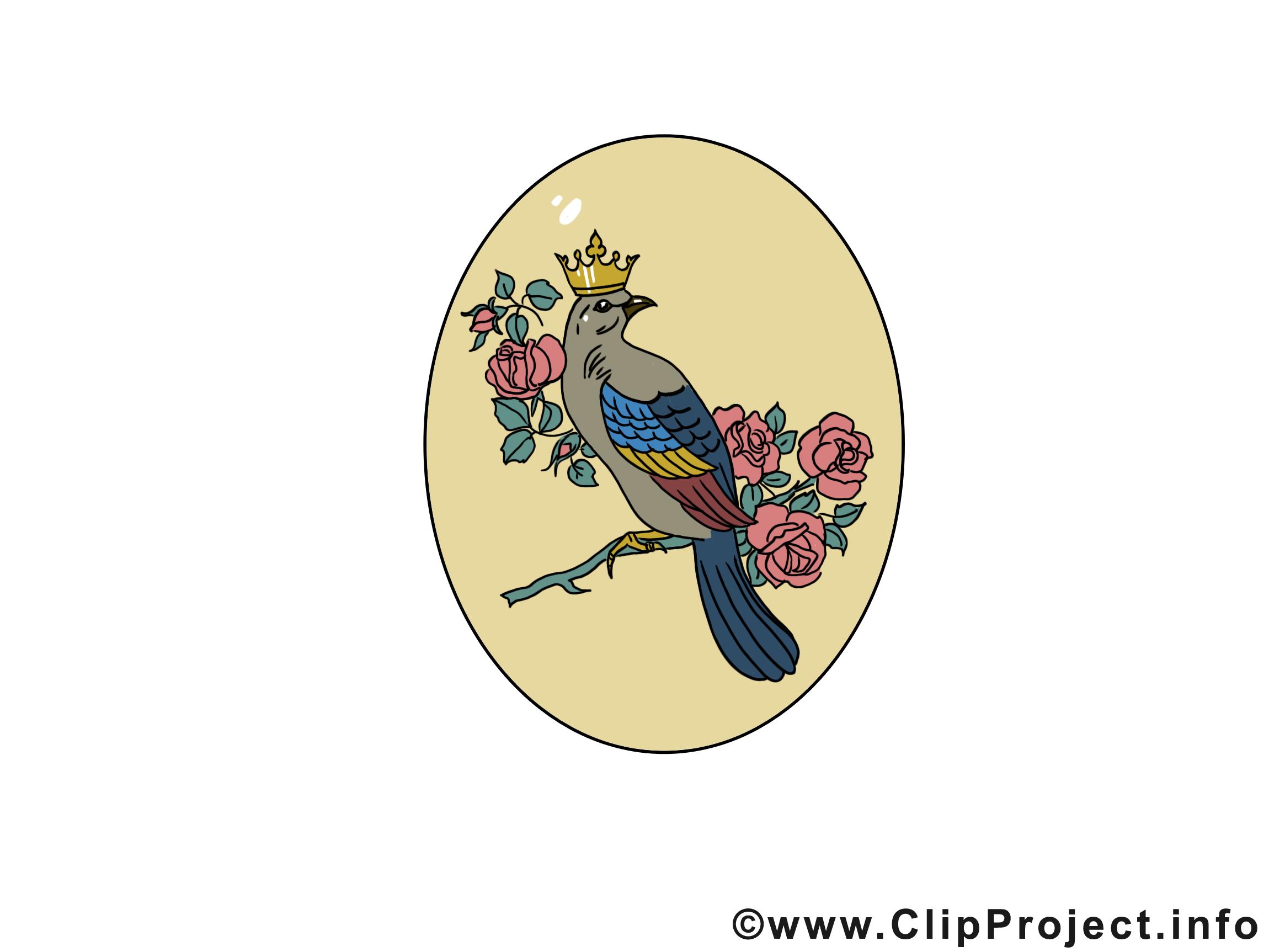 Oiseau image - Pâques images cliparts