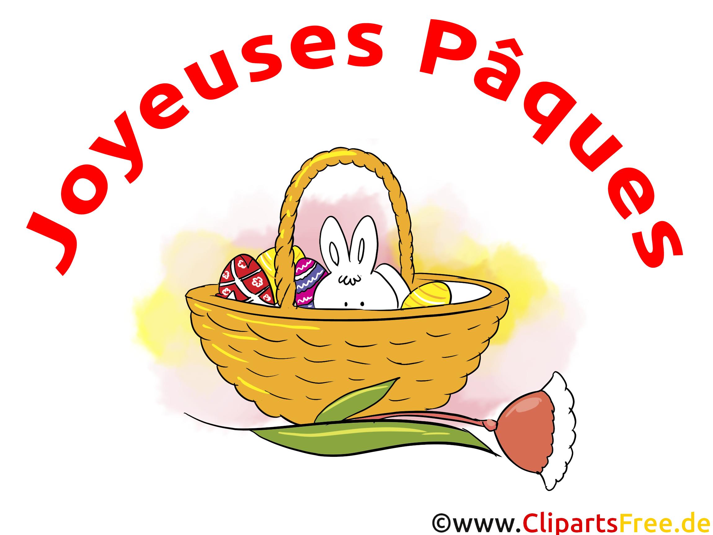 Panier illustration - Pâques images