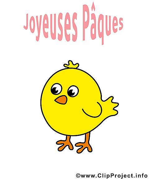 Poussin pâques clipart -  dessins gratuits