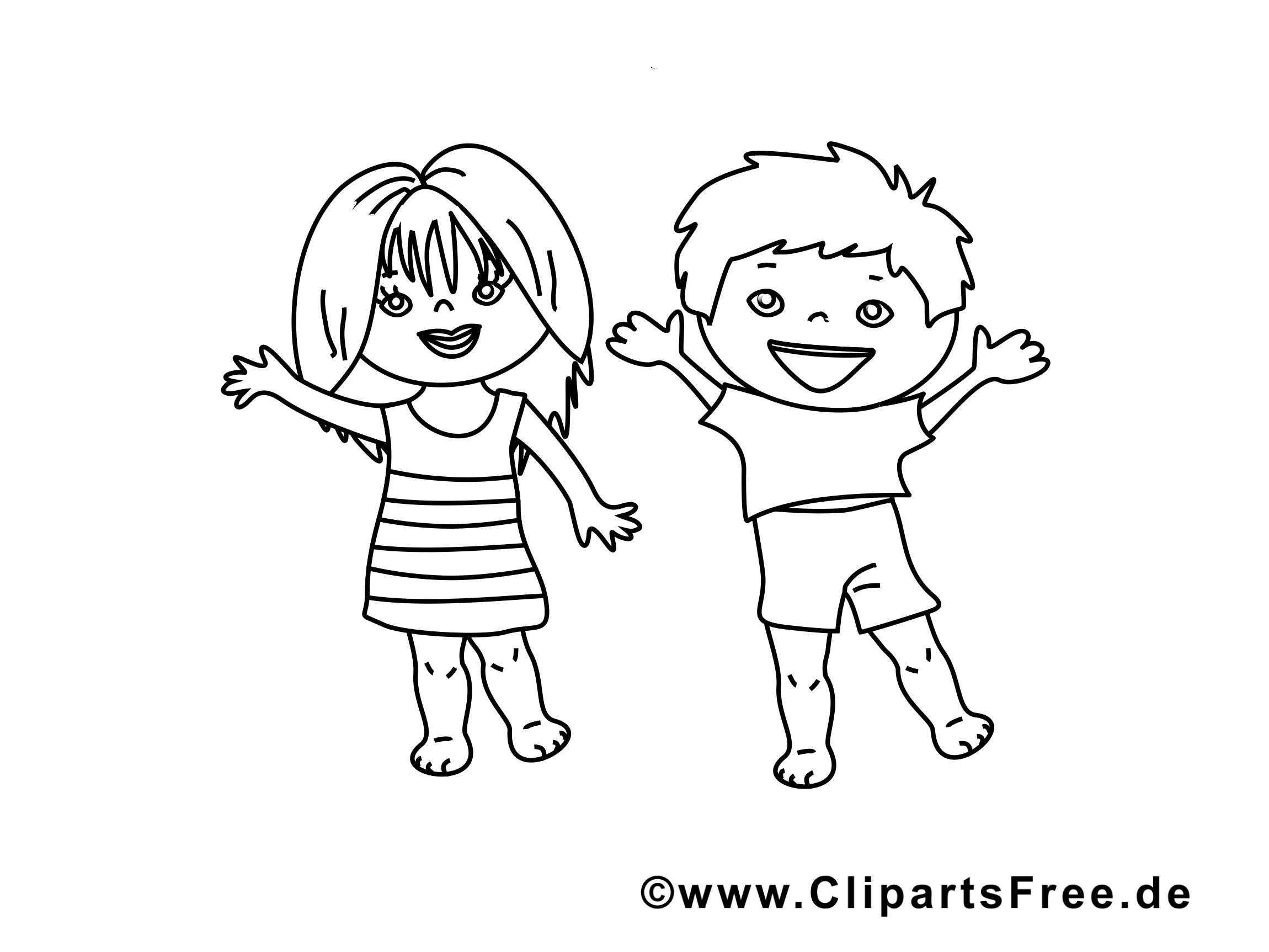 Coloriage enfants - Maternelle illustration Kopie