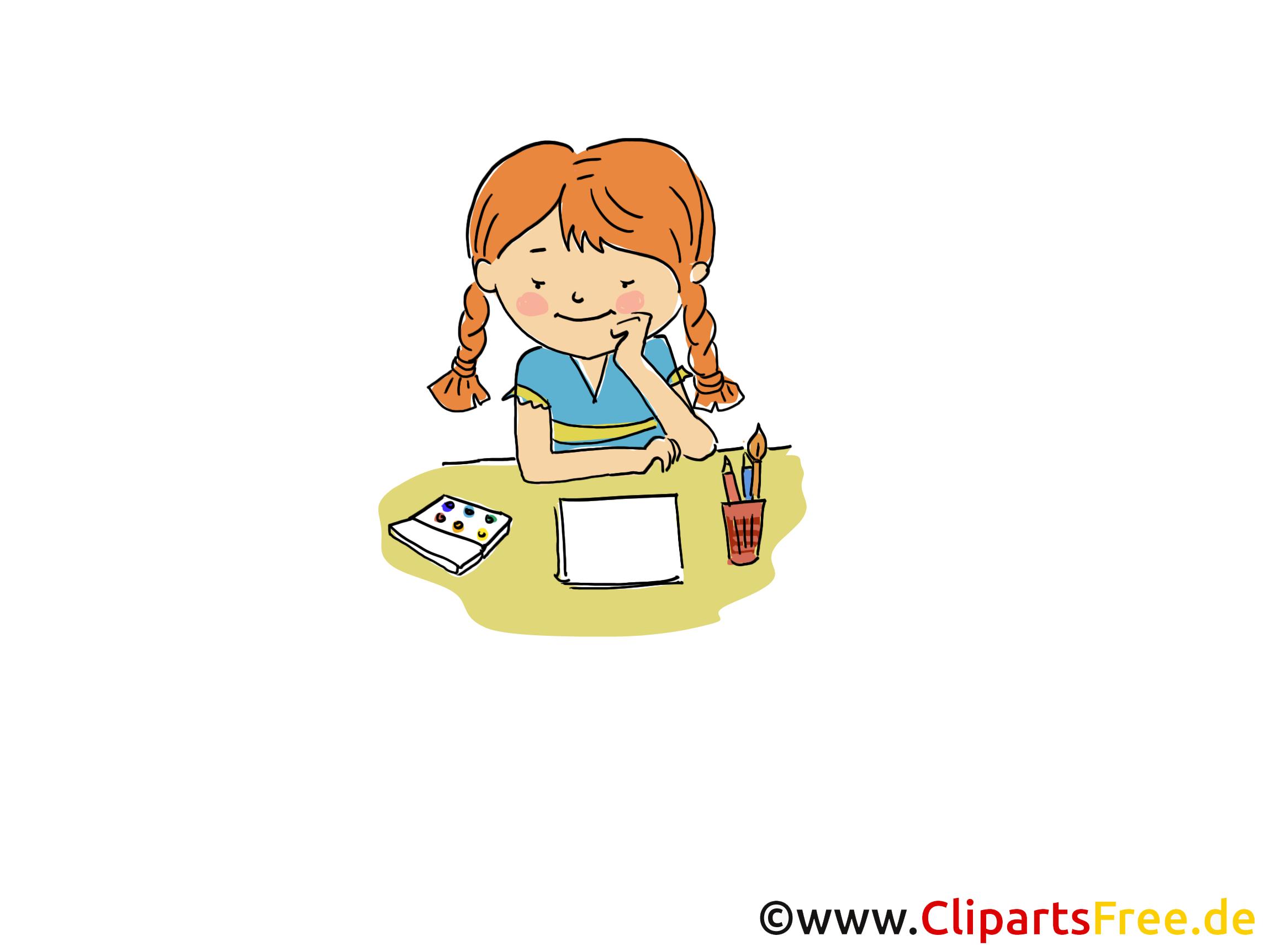 Dessiner image gratuite - Maternelle illustration