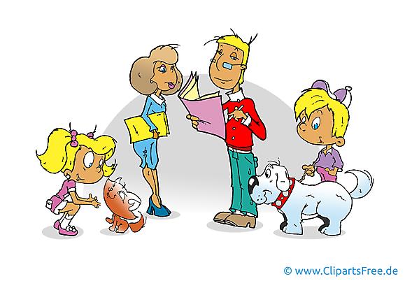 Famille images - Maternelle clip art gratuit