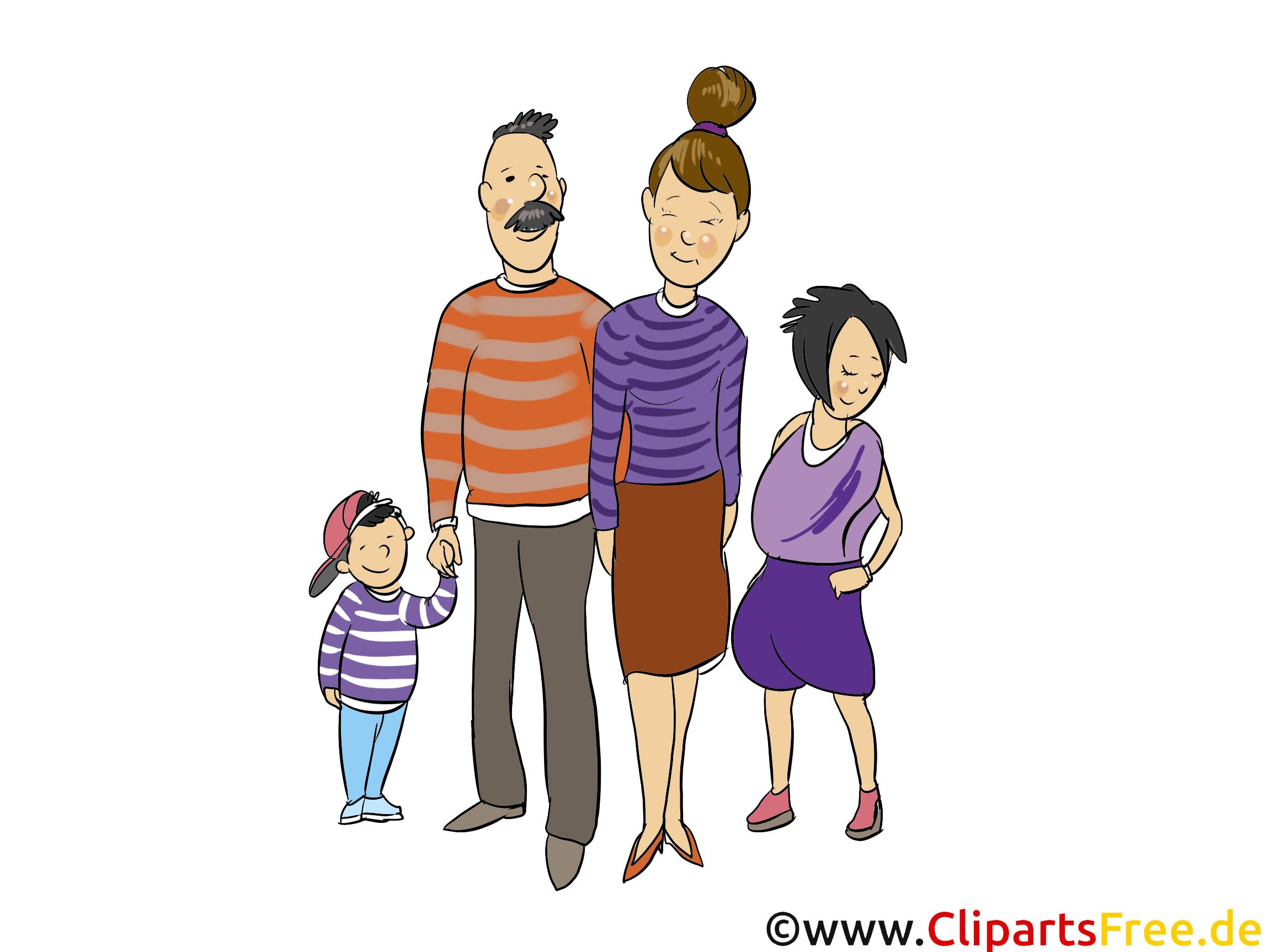 Clipart Famille famille clipart gratuit - gens images - personnes dessin, picture