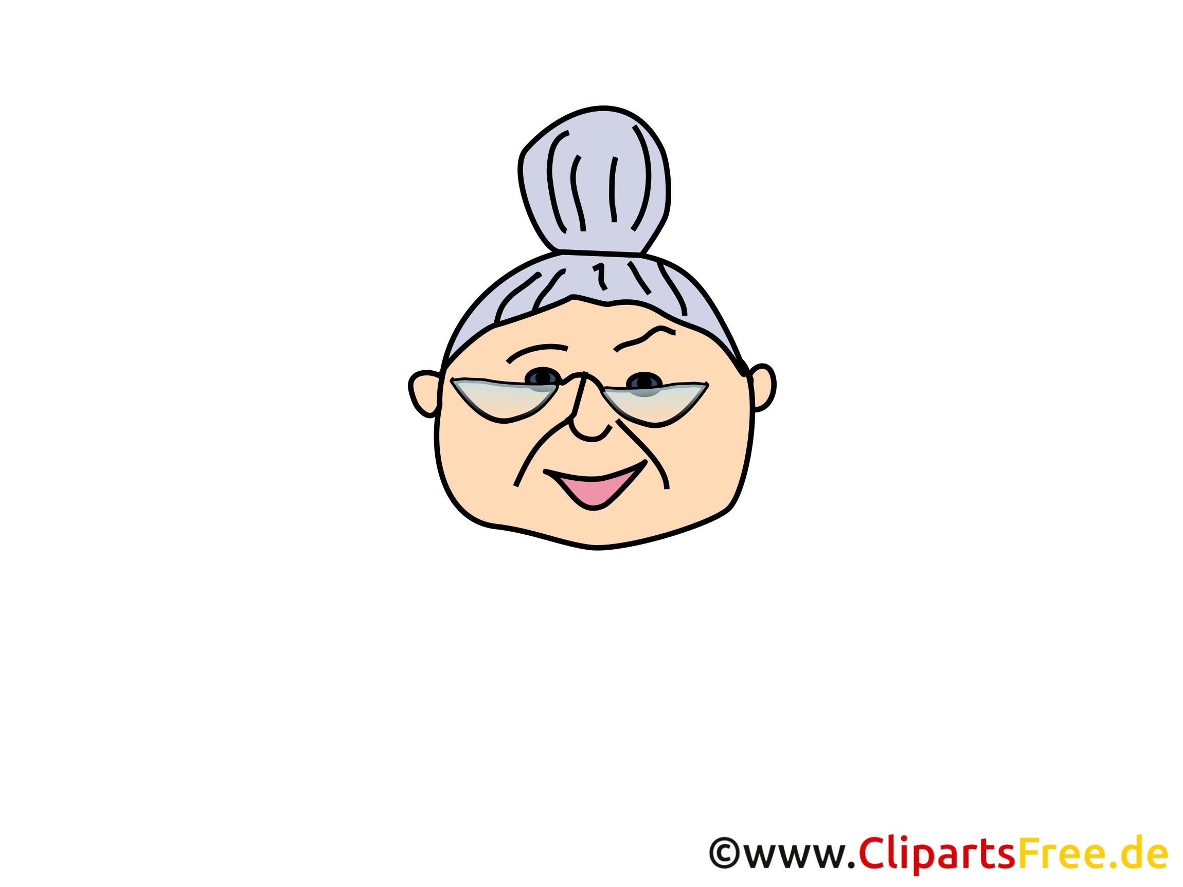Grand-mère dessin - Personne cliparts à télécharger