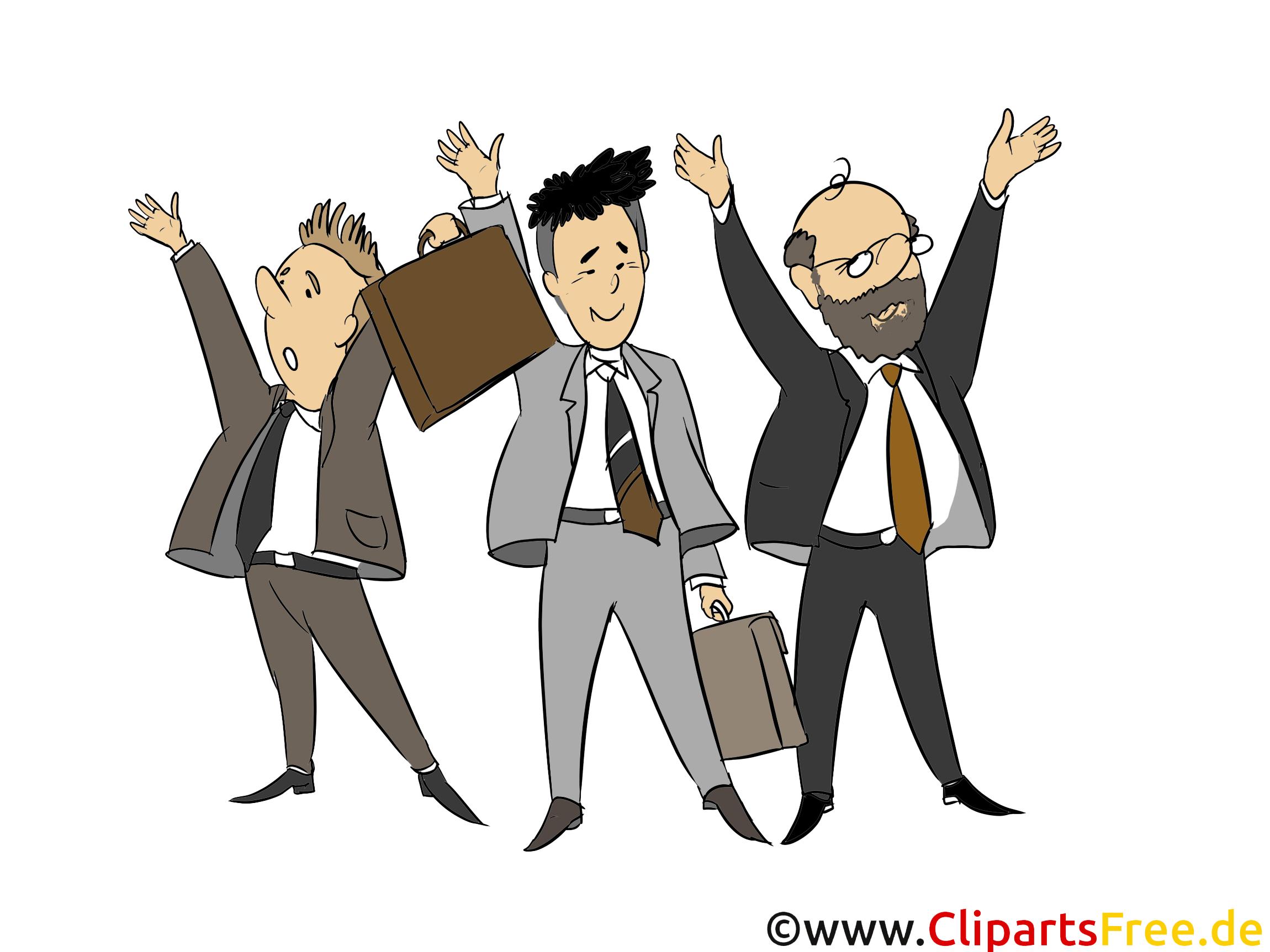 Hommes d'affaires clipart - Gens dessins
