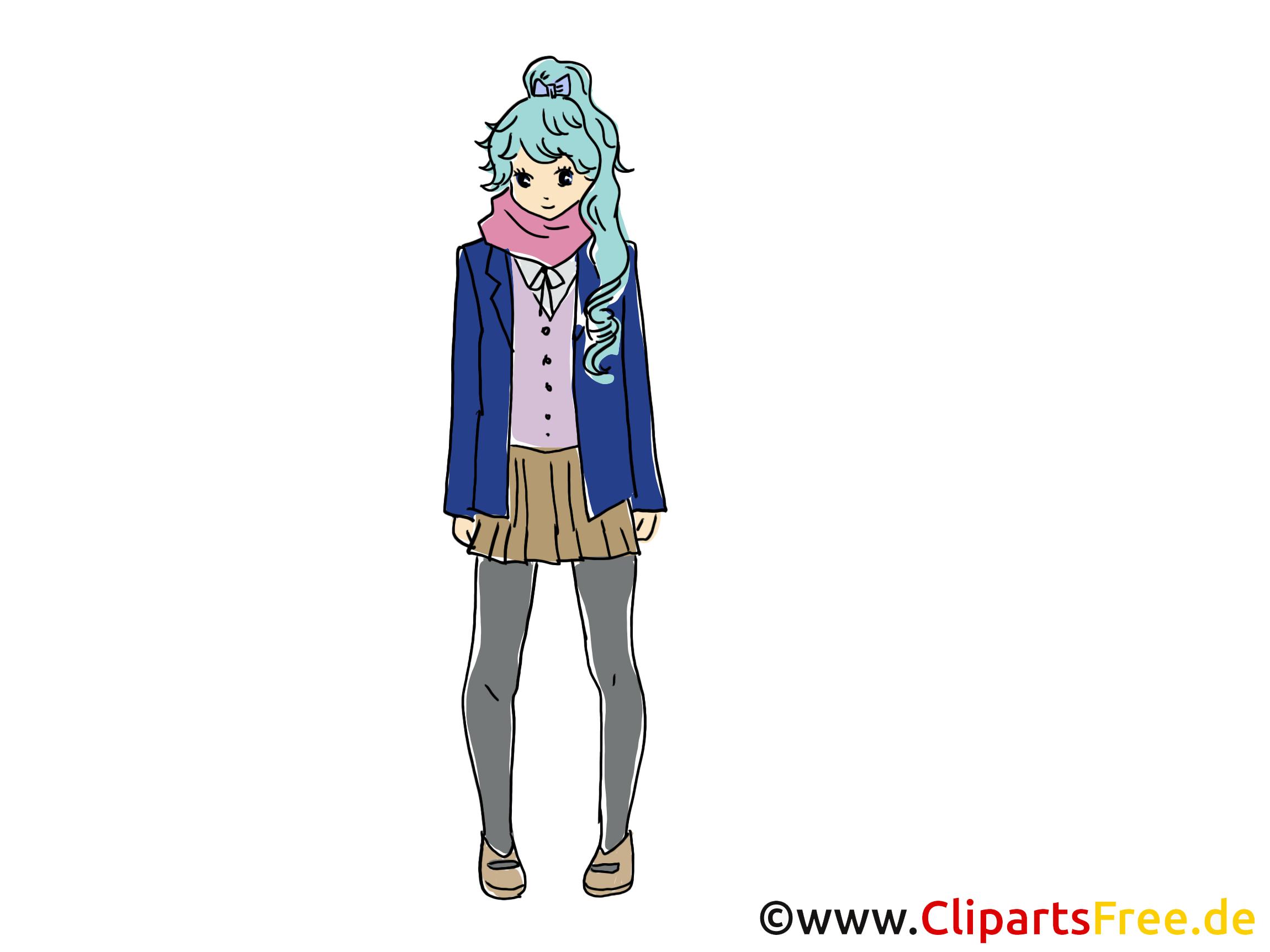 Image gratuite anime - Femme images cliparts