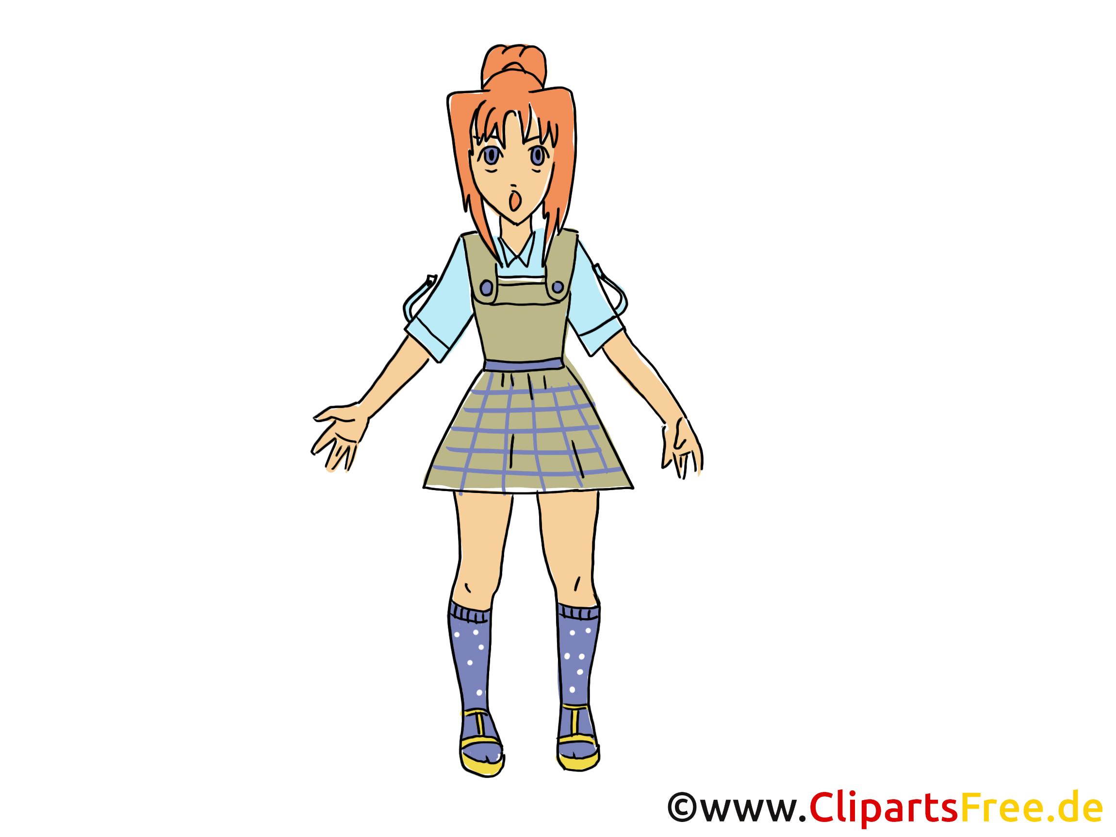 Manga image gratuite - Anime illustration