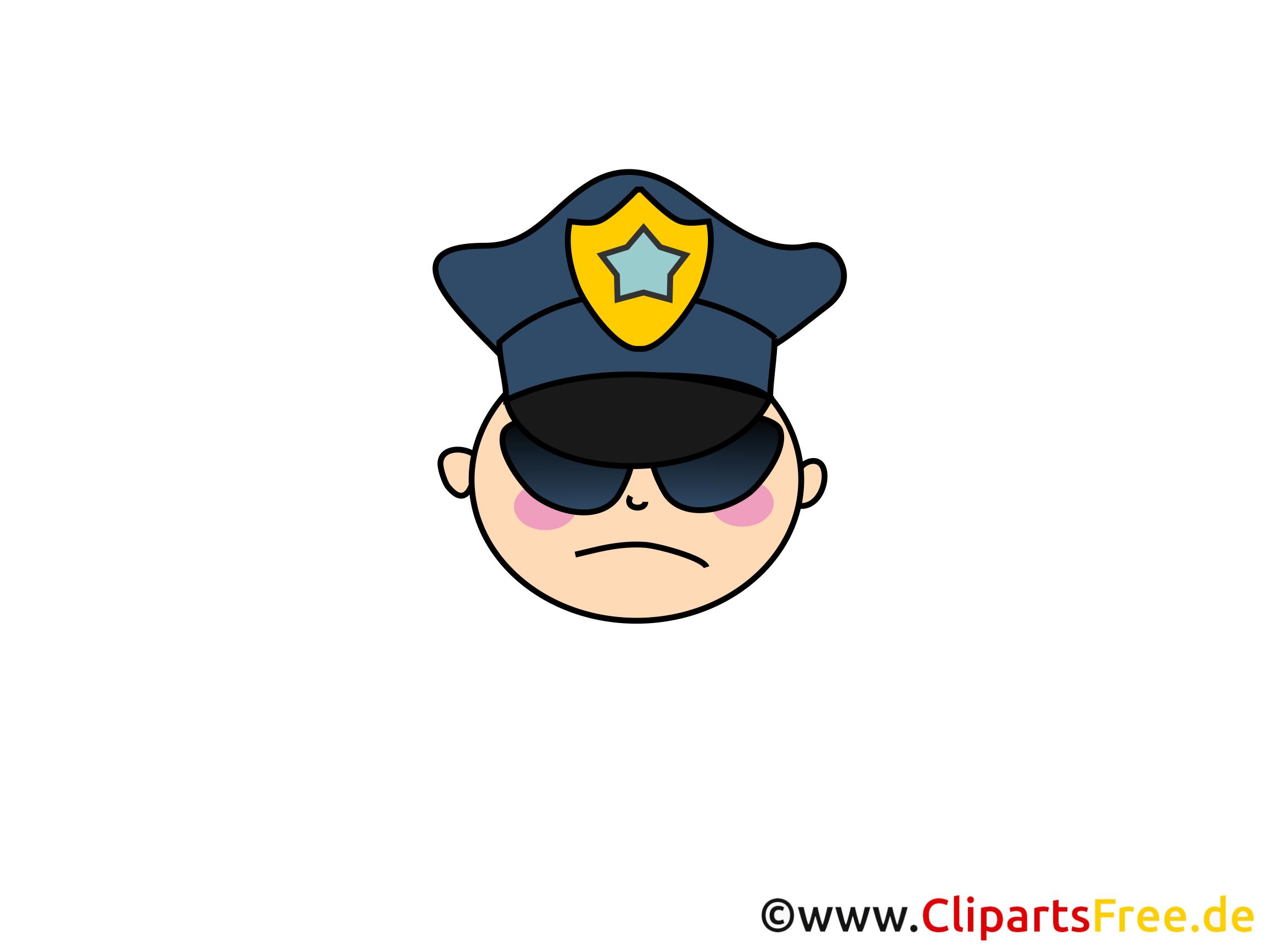 Policier cliparts gratuis - Personne images gratuites