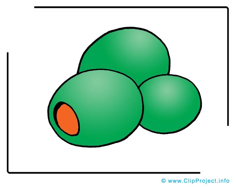 Olives dessins gratuits clipart