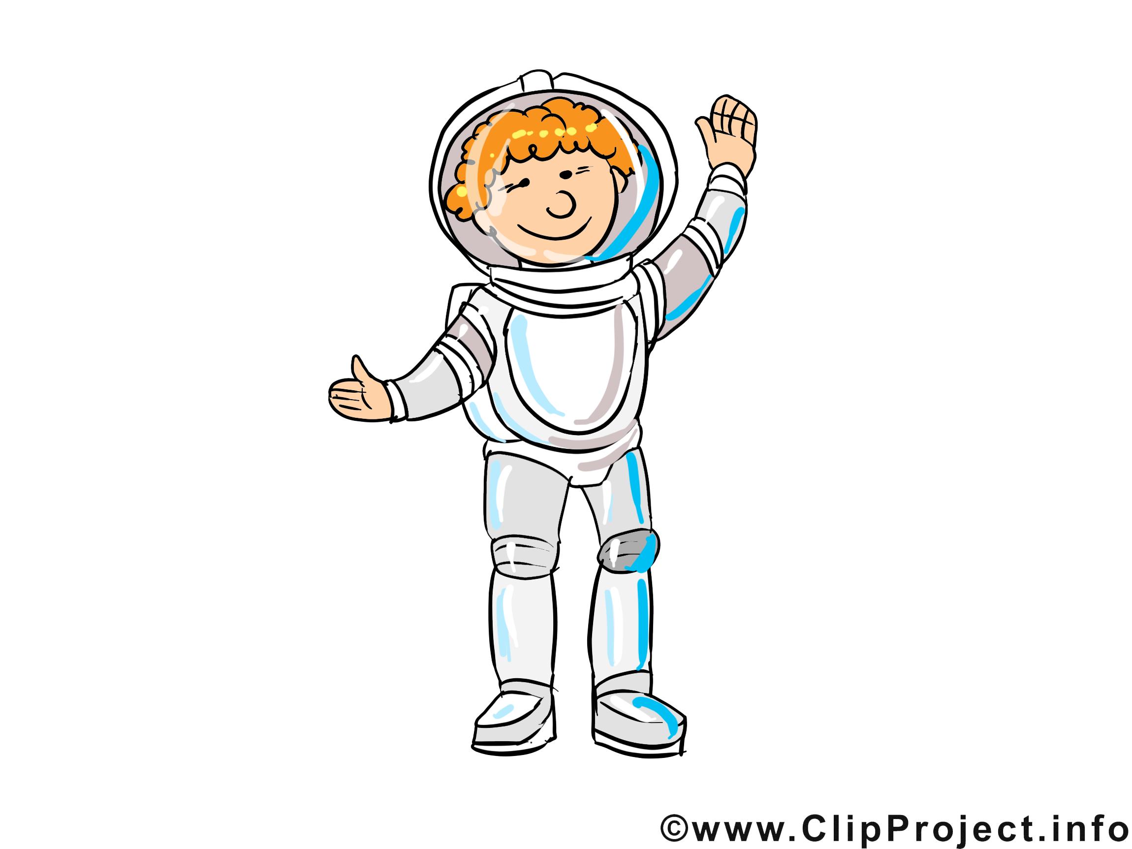 Astronaute métier image à télécharger gratuite
