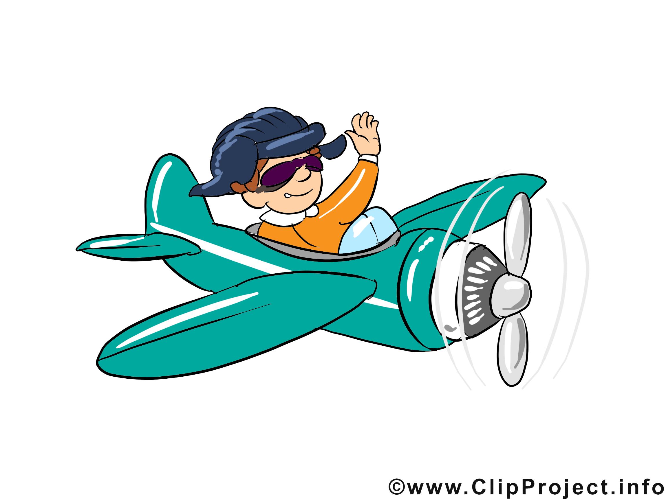 Aviateur dessin à télécharger - Métier images