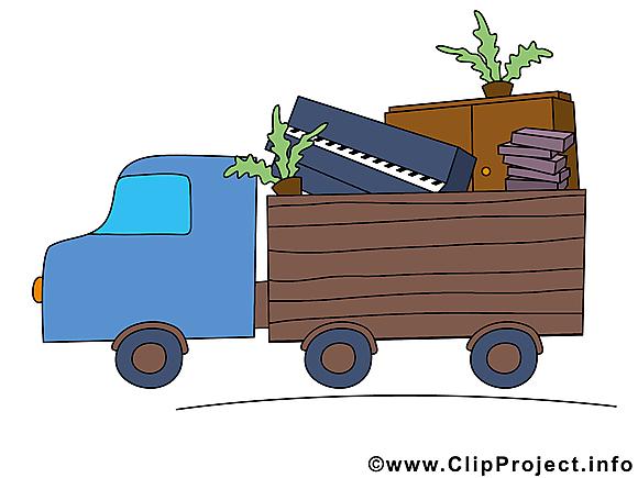 Déménagement clipart - Métier images gratuites