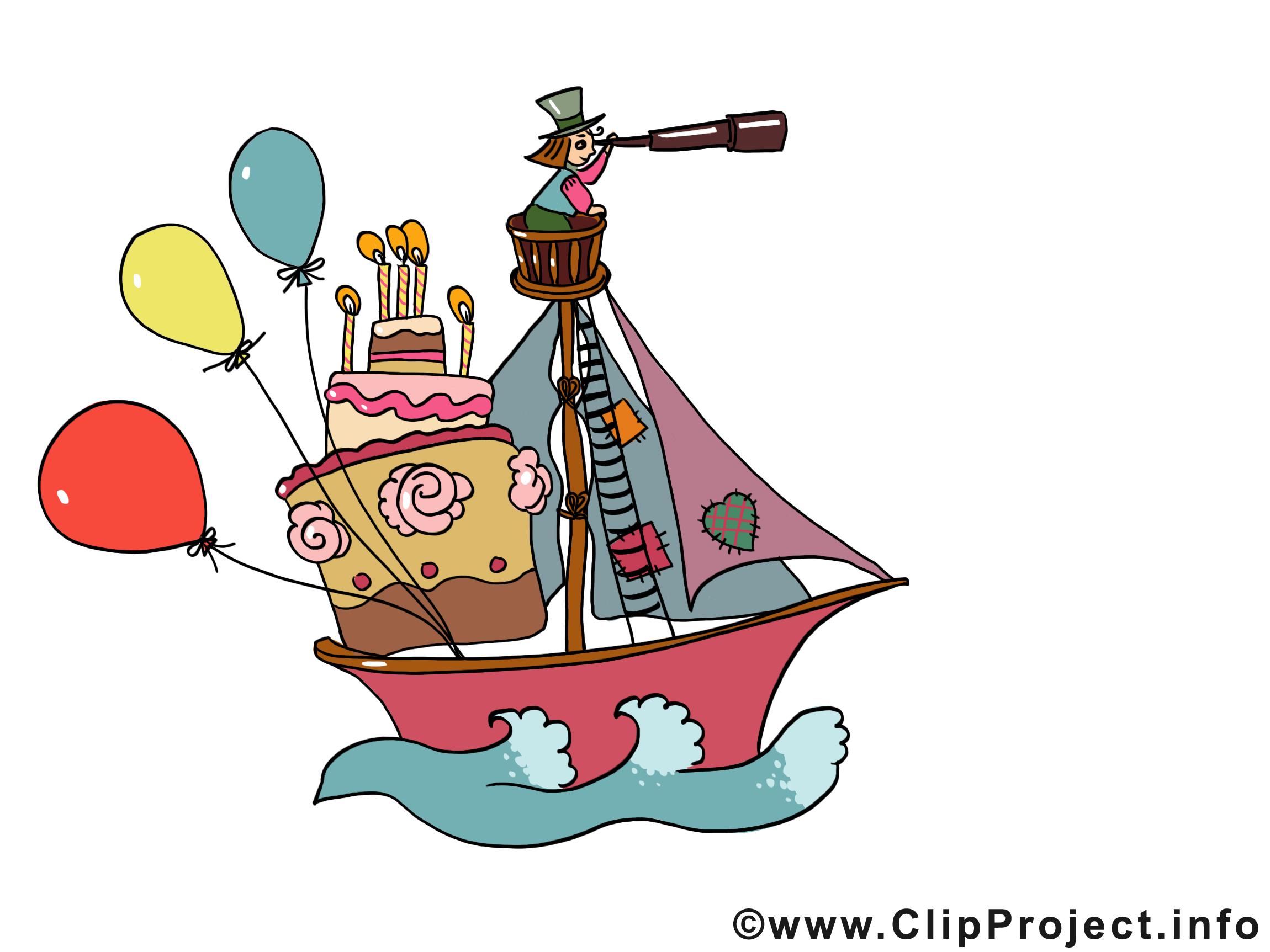 Fête bateau image à télécharger – Armée clipart