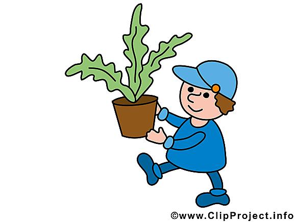 Jardinier métier image à télécharger gratuite