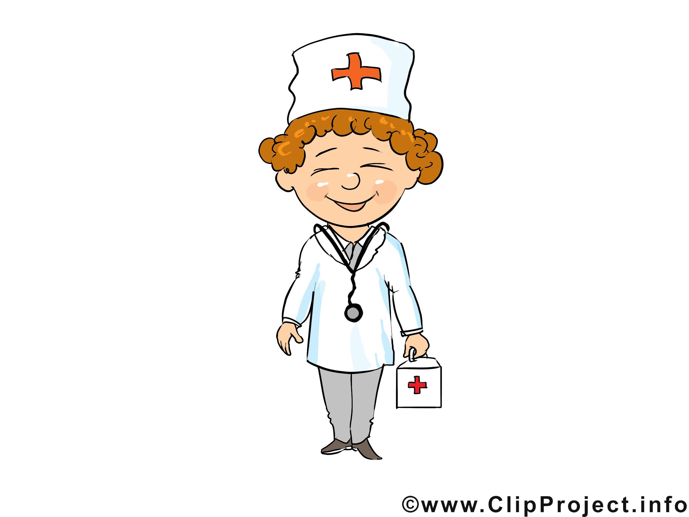 Médecin dessin gratuit - Métier clip arts gratuits