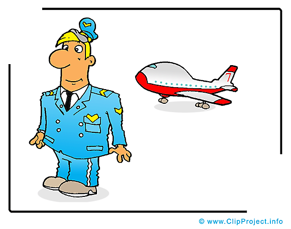 Pilote dessin gratuit - Metier  image gratuite