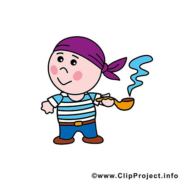 Pirate dessins gratuits - Profession clipart gratuit