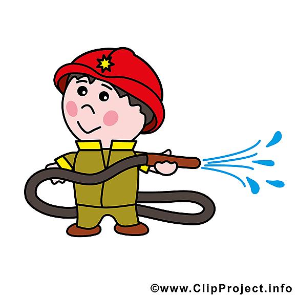 Pompier profession image à télécharger gratuite