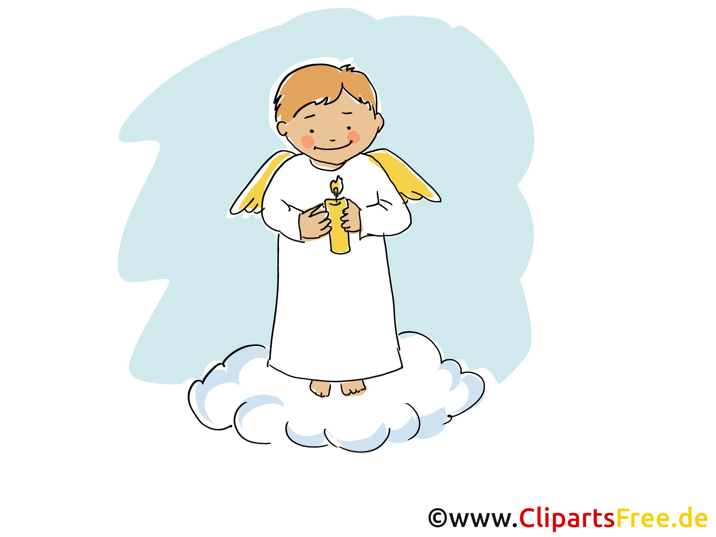 Häufig Ange clip arts gratuits - Baptême illustrations - Baptême dessin  SJ54