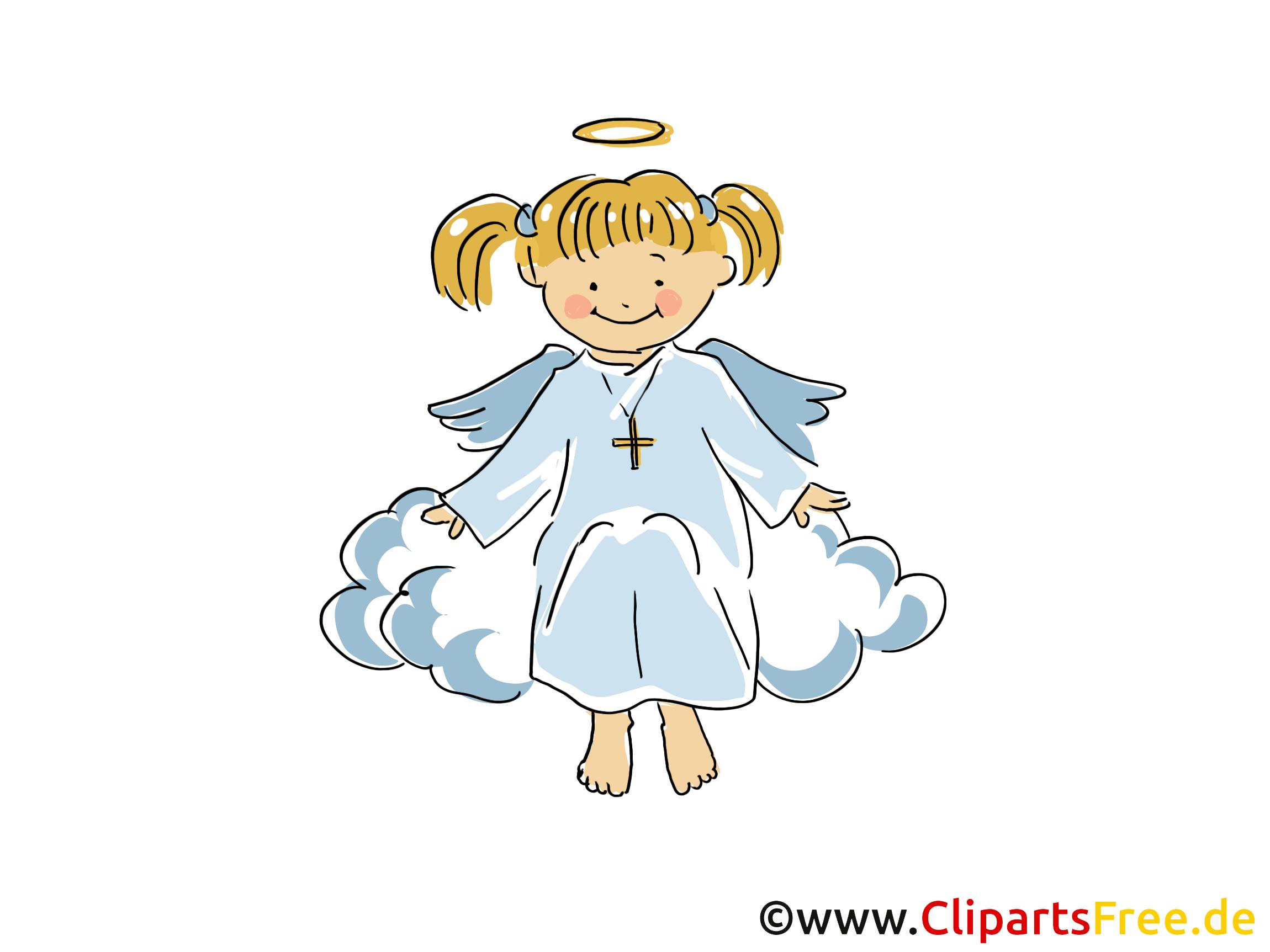 Extrem Ange dessin gratuit - Baptême clip arts gratuits - Baptême dessin  AE16